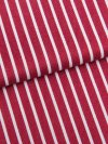 Men's Lounge Trousers Royal 215 Cotton Satin Stripe Red