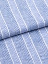 Men's Classic Fit Pyjamas Arran 20 Pure Brushed Cotton Stripe Blue