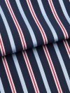 Men's Modern Fit Boxer Shorts Royal 206 Cotton Satin Stripe Navy
