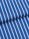 Men's Classic Fit Pyjamas Royal 215 Cotton Satin Stripe Blue