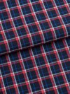 Men's Lounge Trousers Barker 22 Cotton Check Navy