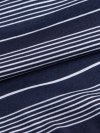 Men's Hipster Stripe Pima Cotton Stretch Navy