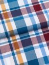 Men's Short Pyjamas Barker 25 Cotton Check Multi