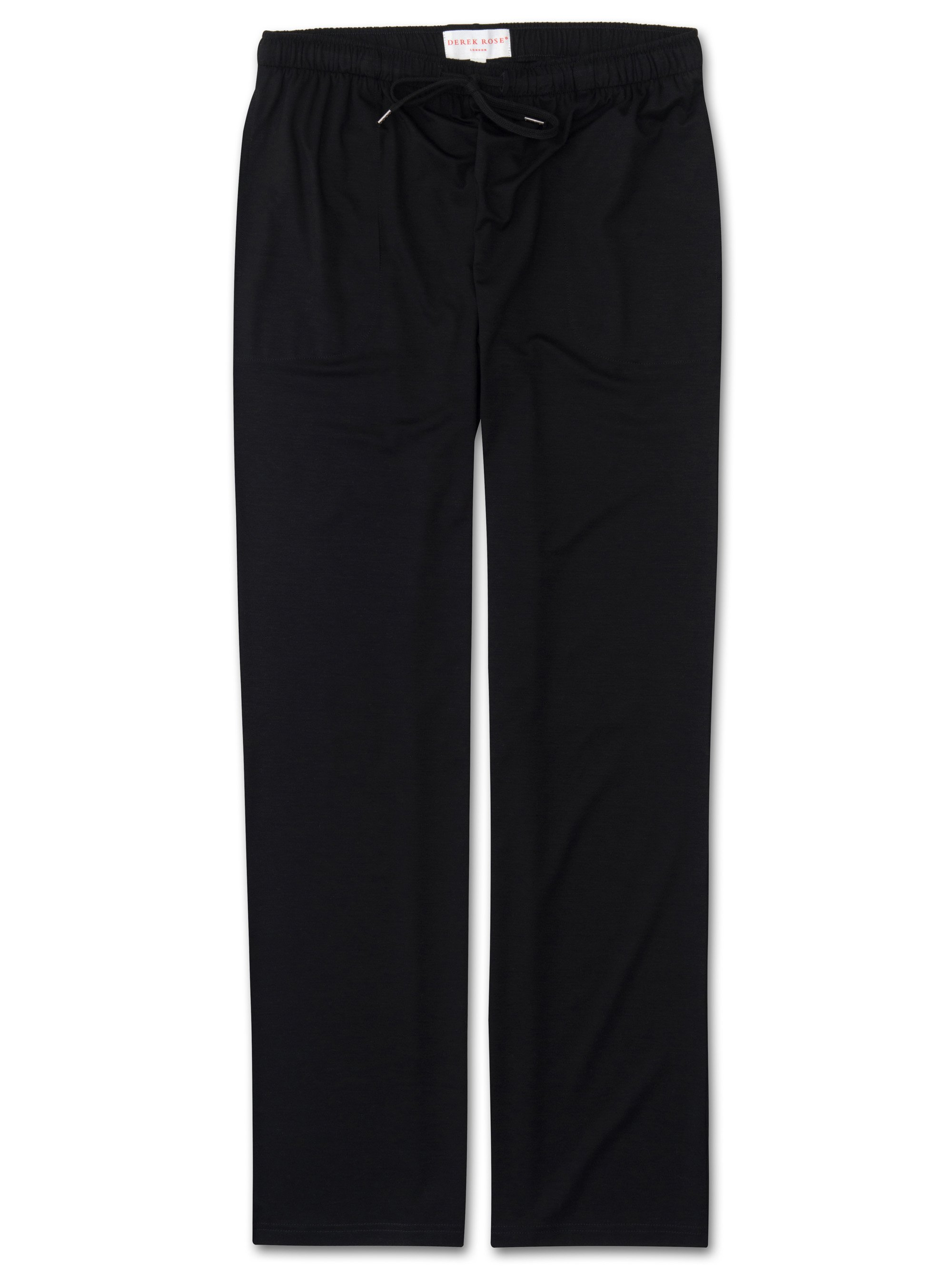 Men's Jersey Trousers Basel Micro Modal Stretch Black