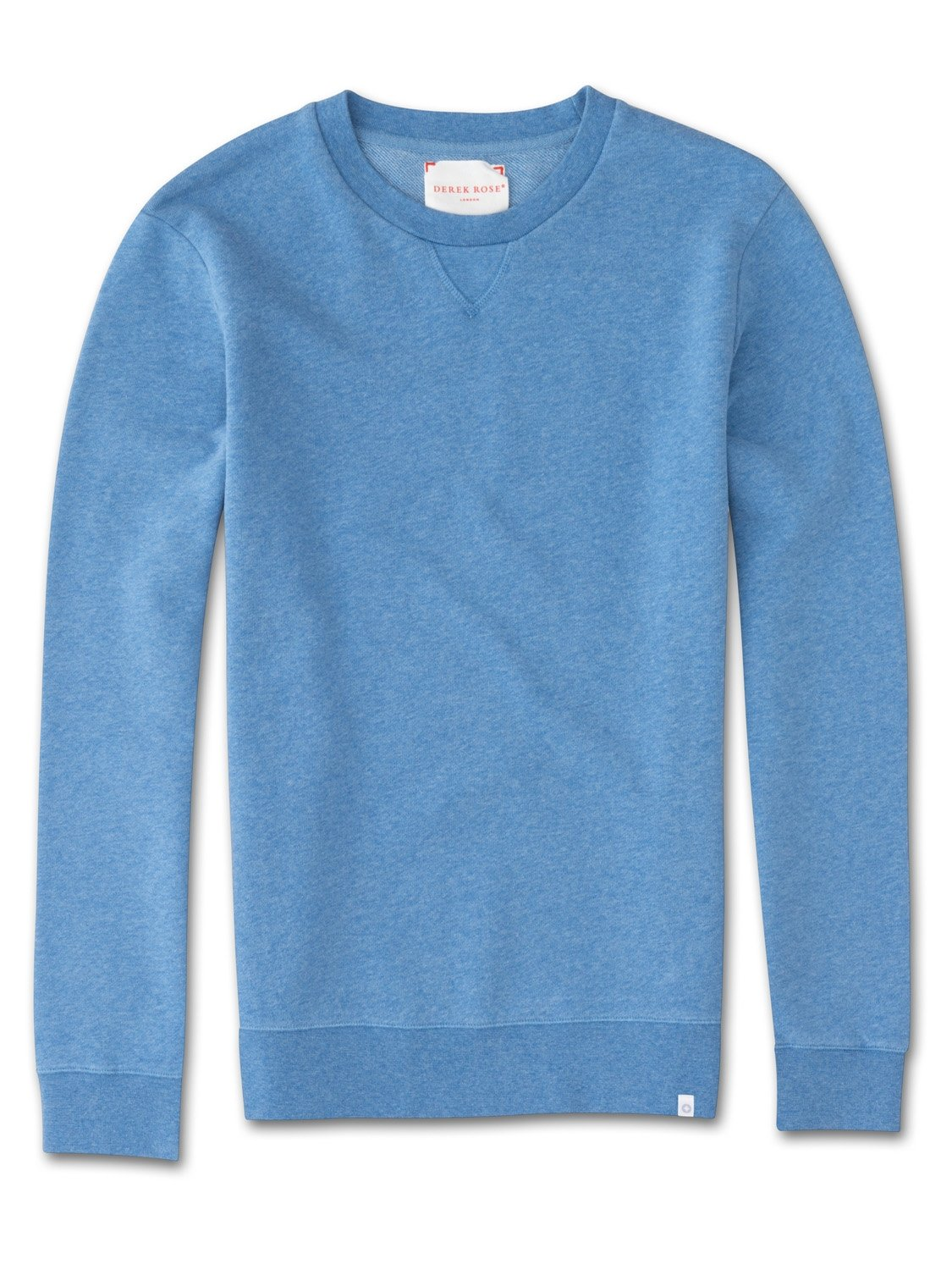 Men's Sweatshirt Devon 2 Loopback Cotton Blue