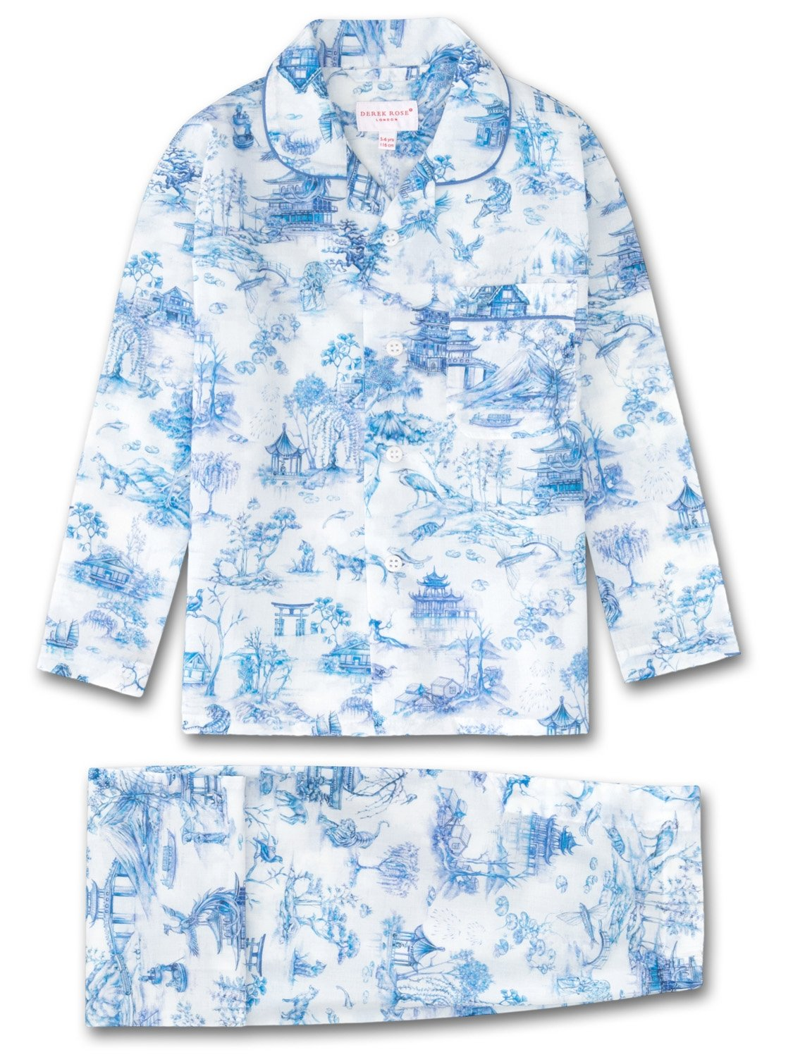 Kids' Pyjamas Ledbury 11 Cotton Batiste Blue