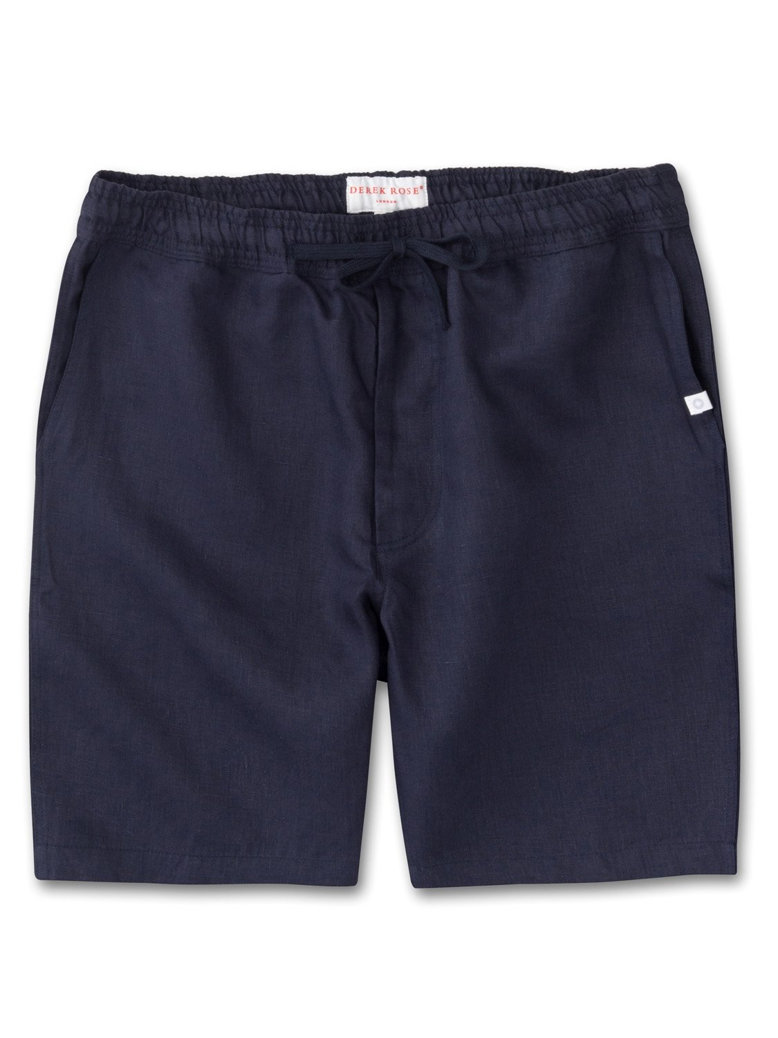 Men's Linen Shorts Sydney Linen Navy
