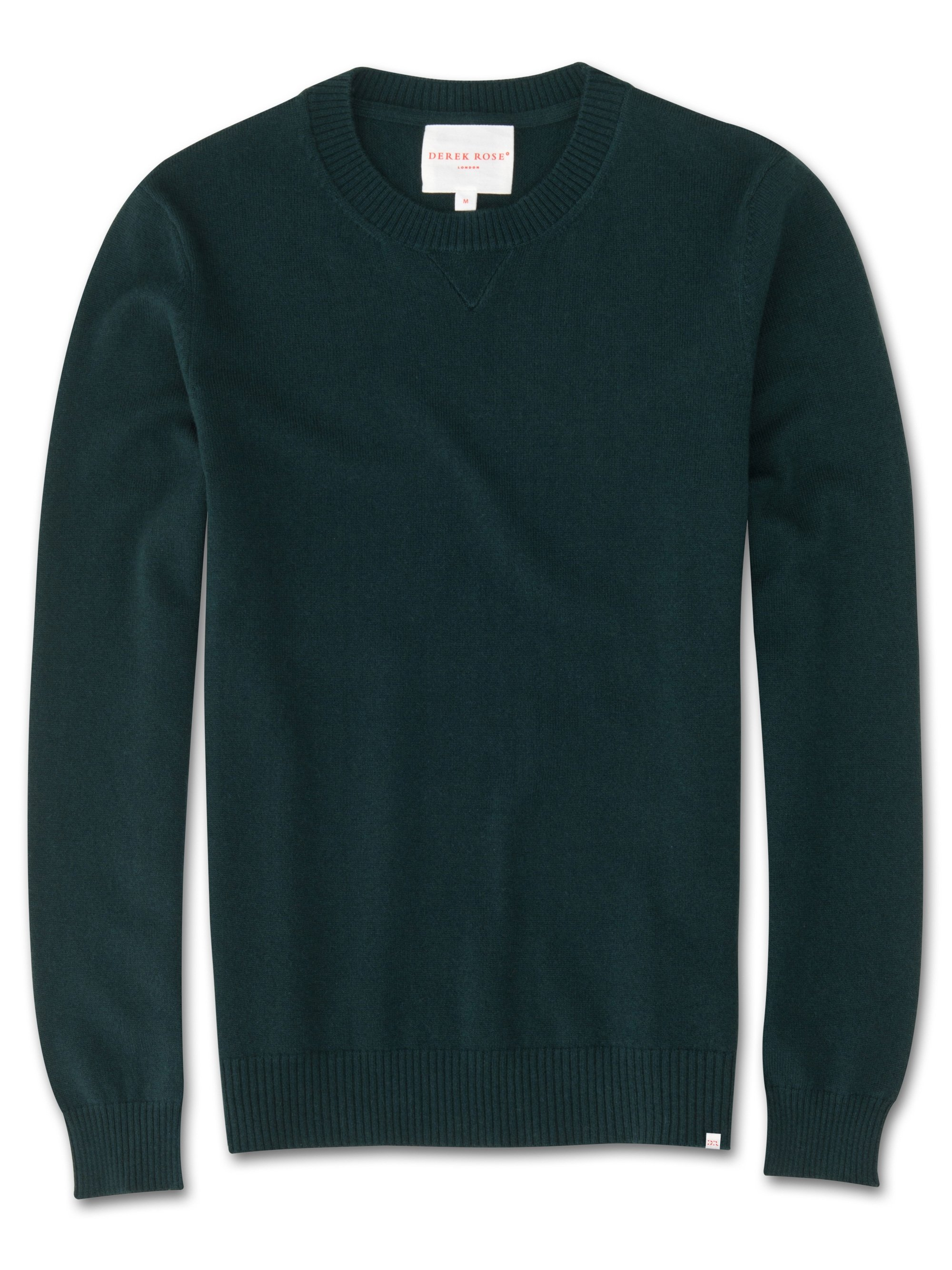 Men's Cashmere Sweater Finley Pure Cashmere Green