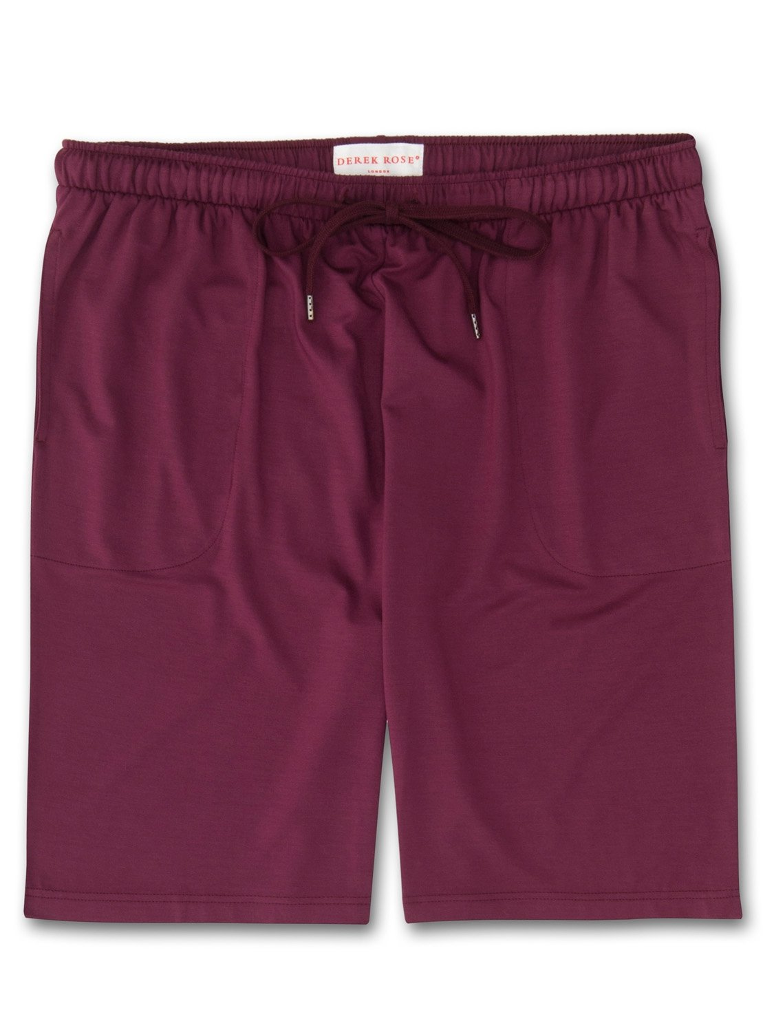 Men's Jersey Shorts Basel 5 Micro Modal Stretch Burgundy
