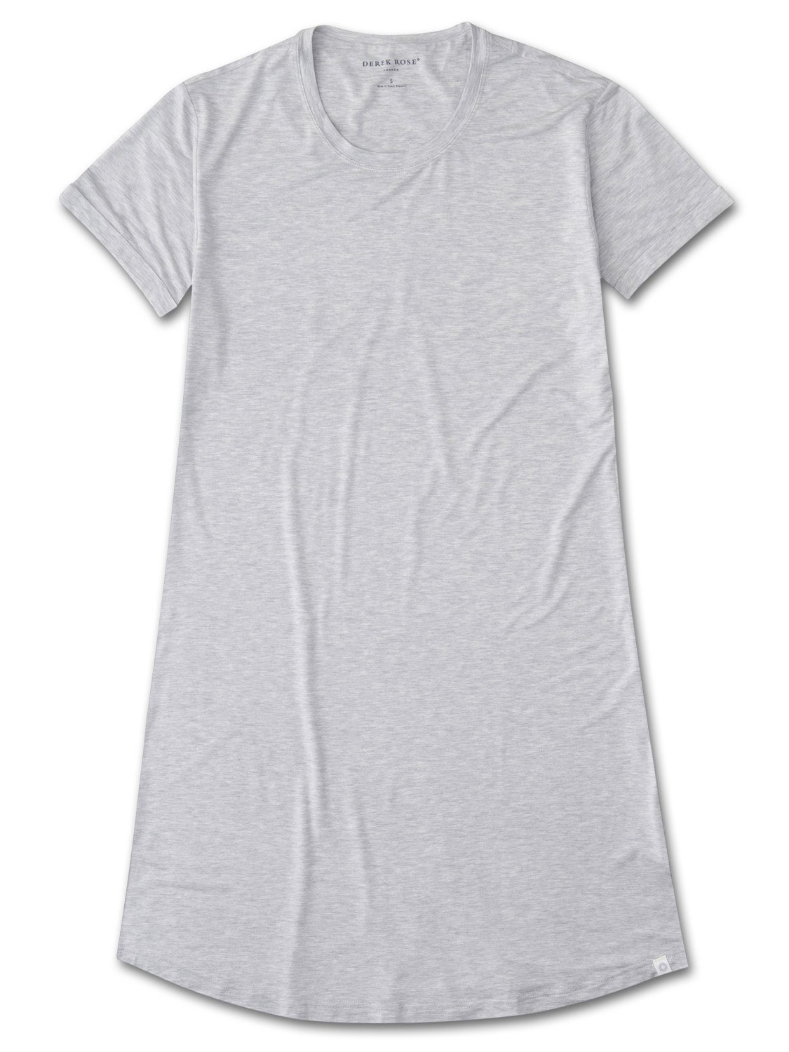 Women's Sleep T-Shirt Ethan Micro Modal Stretch Silver