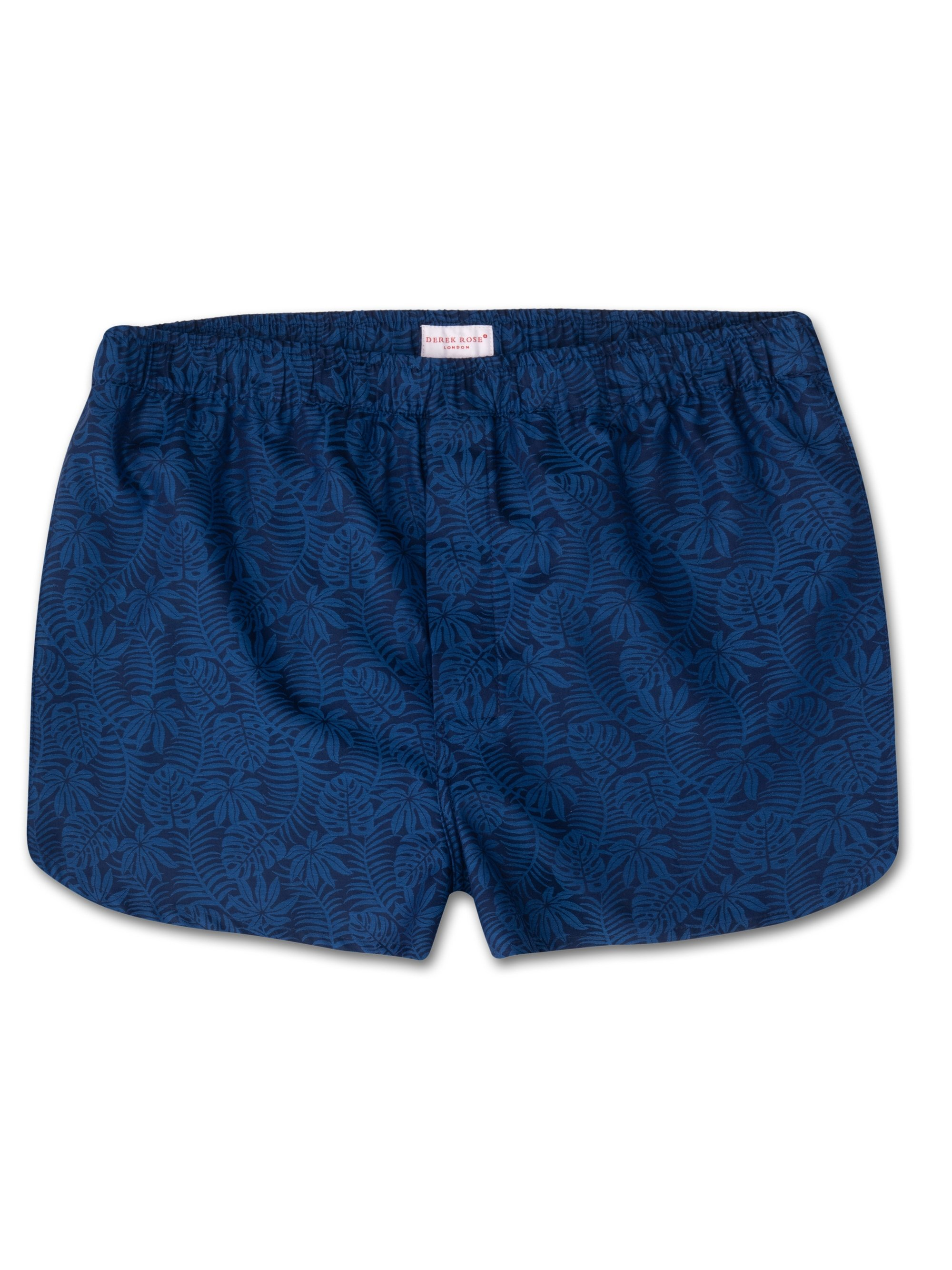 Men's Modern Fit Boxer Shorts Paris 15 Cotton Jacquard Navy