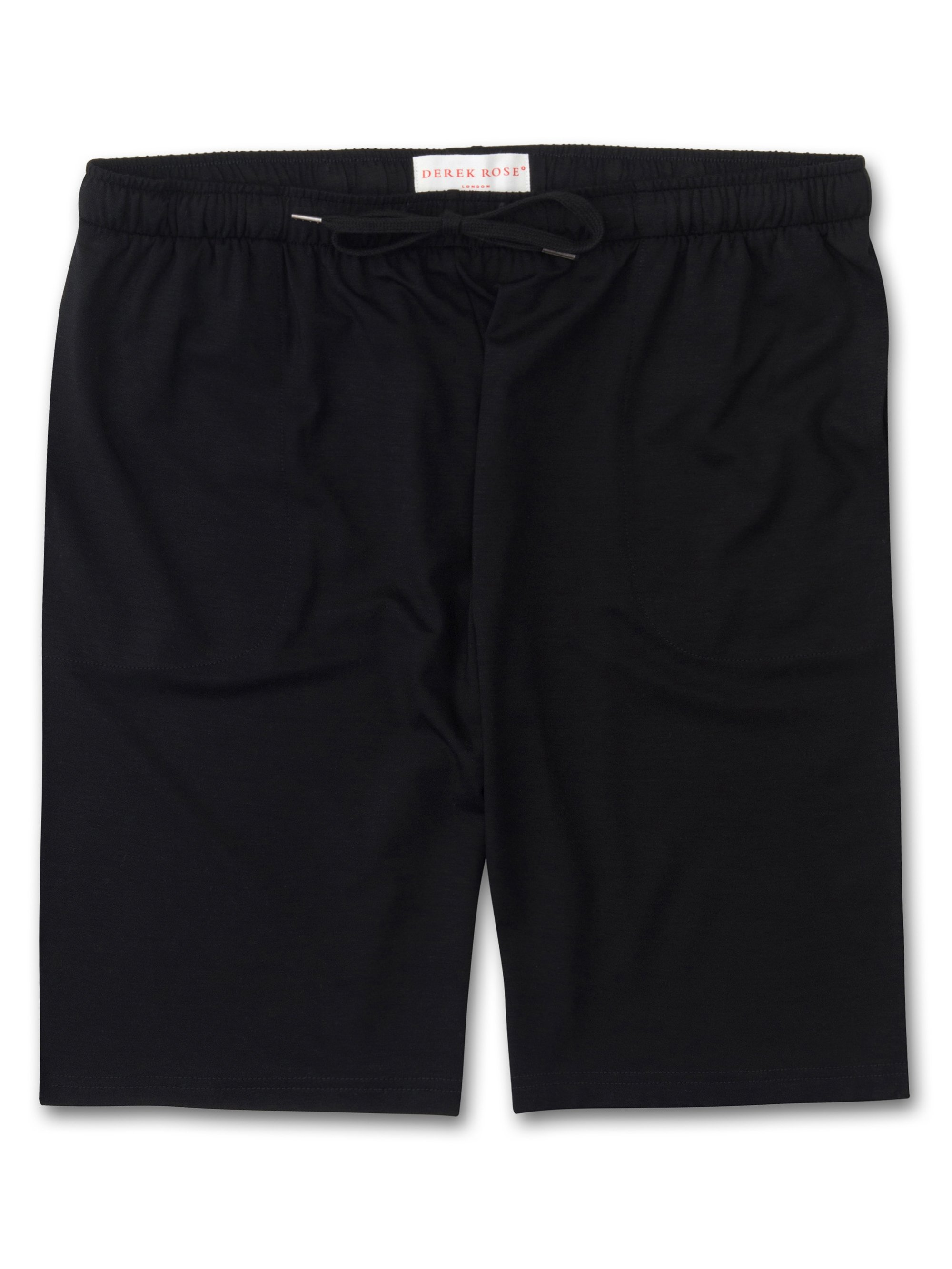 Men's Jersey Shorts Basel Micro Modal Stretch Black