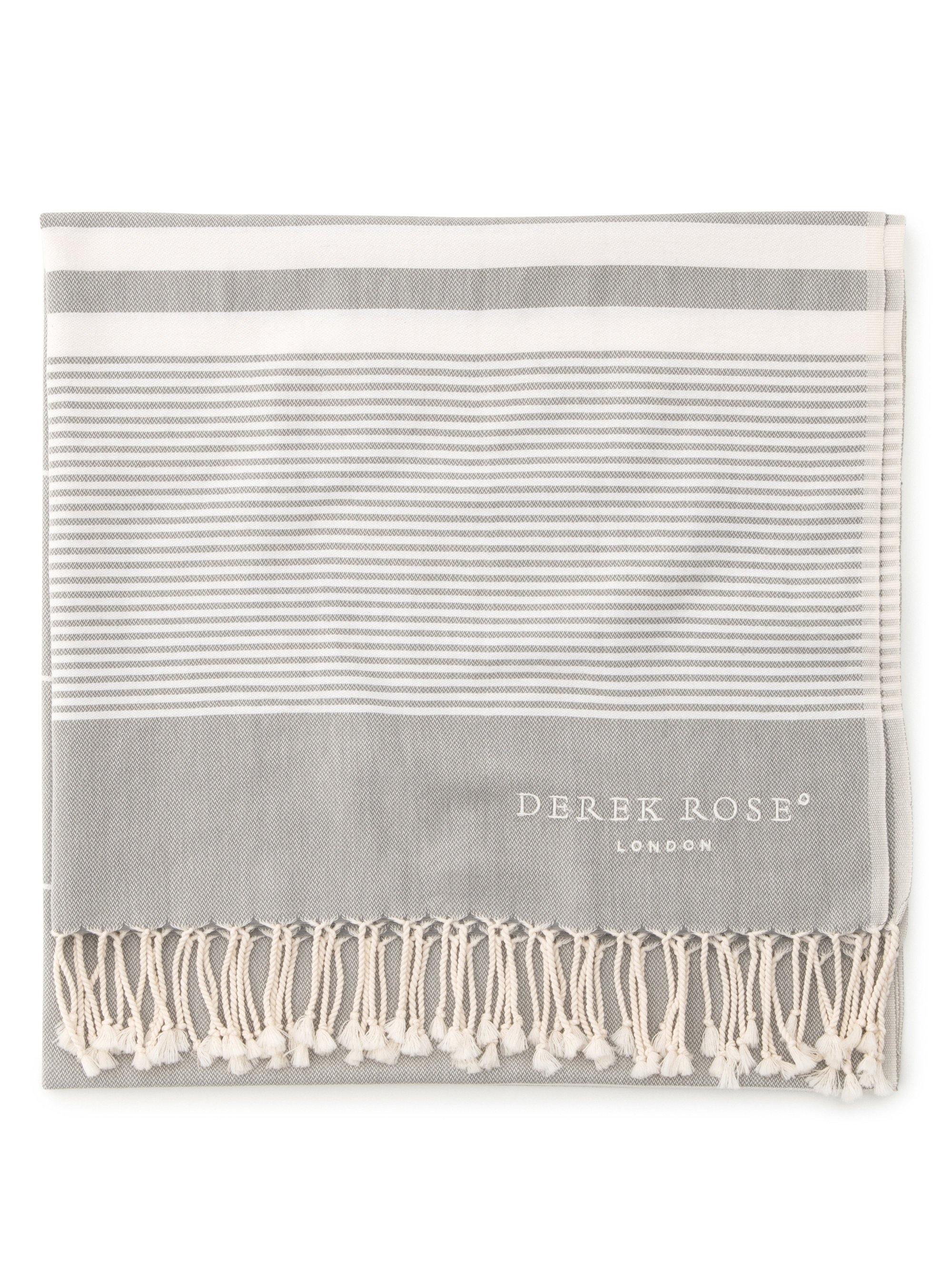 Hammam Towel Karinna Pure Cotton Silver