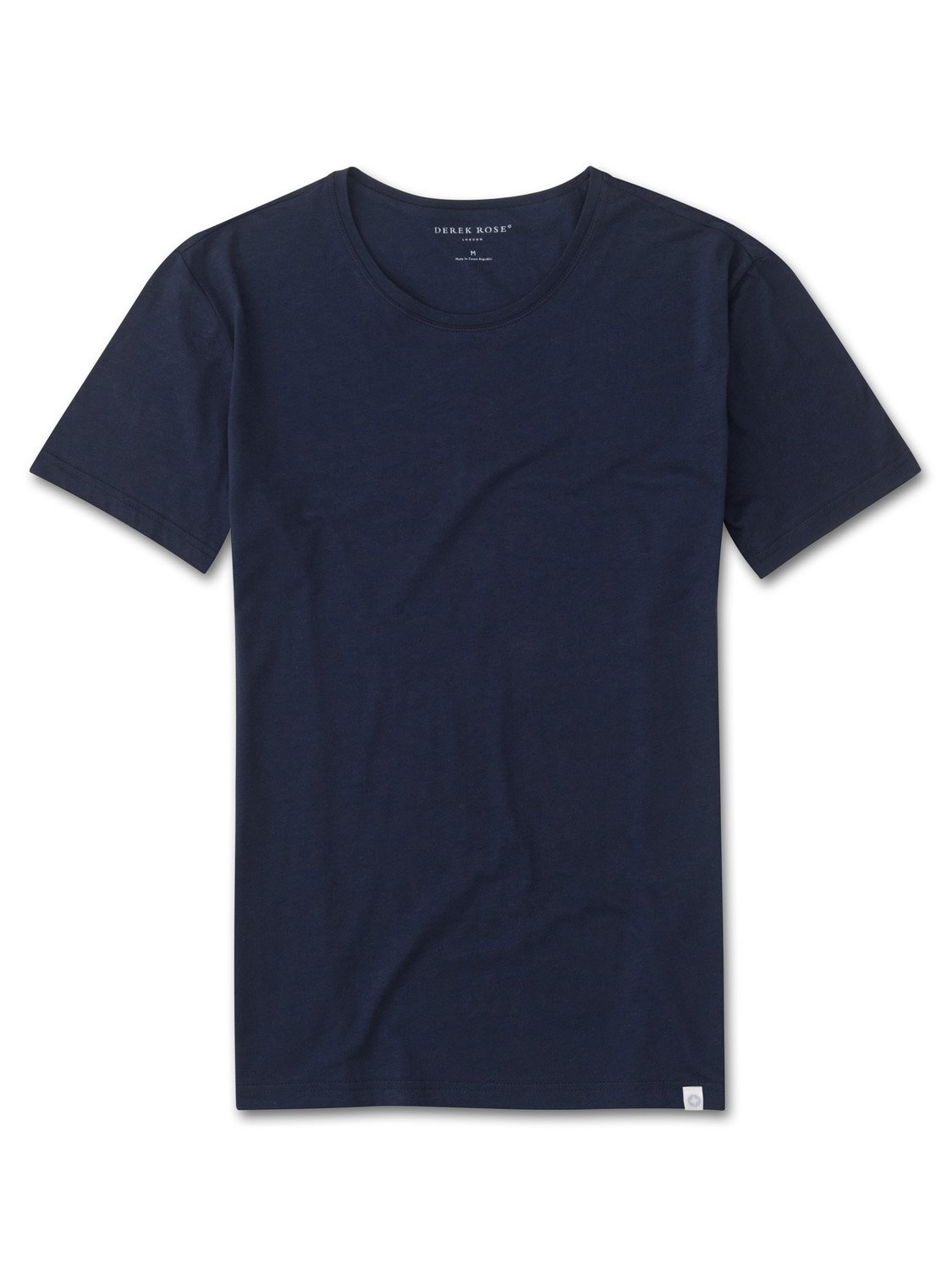 Men's Short Sleeve T-Shirt Riley Pima Cotton Navy