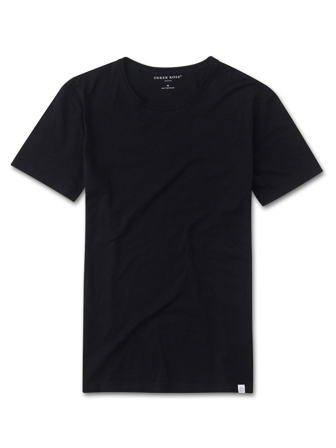 Men's Short Sleeve T-Shirt Riley Pima Cotton Black