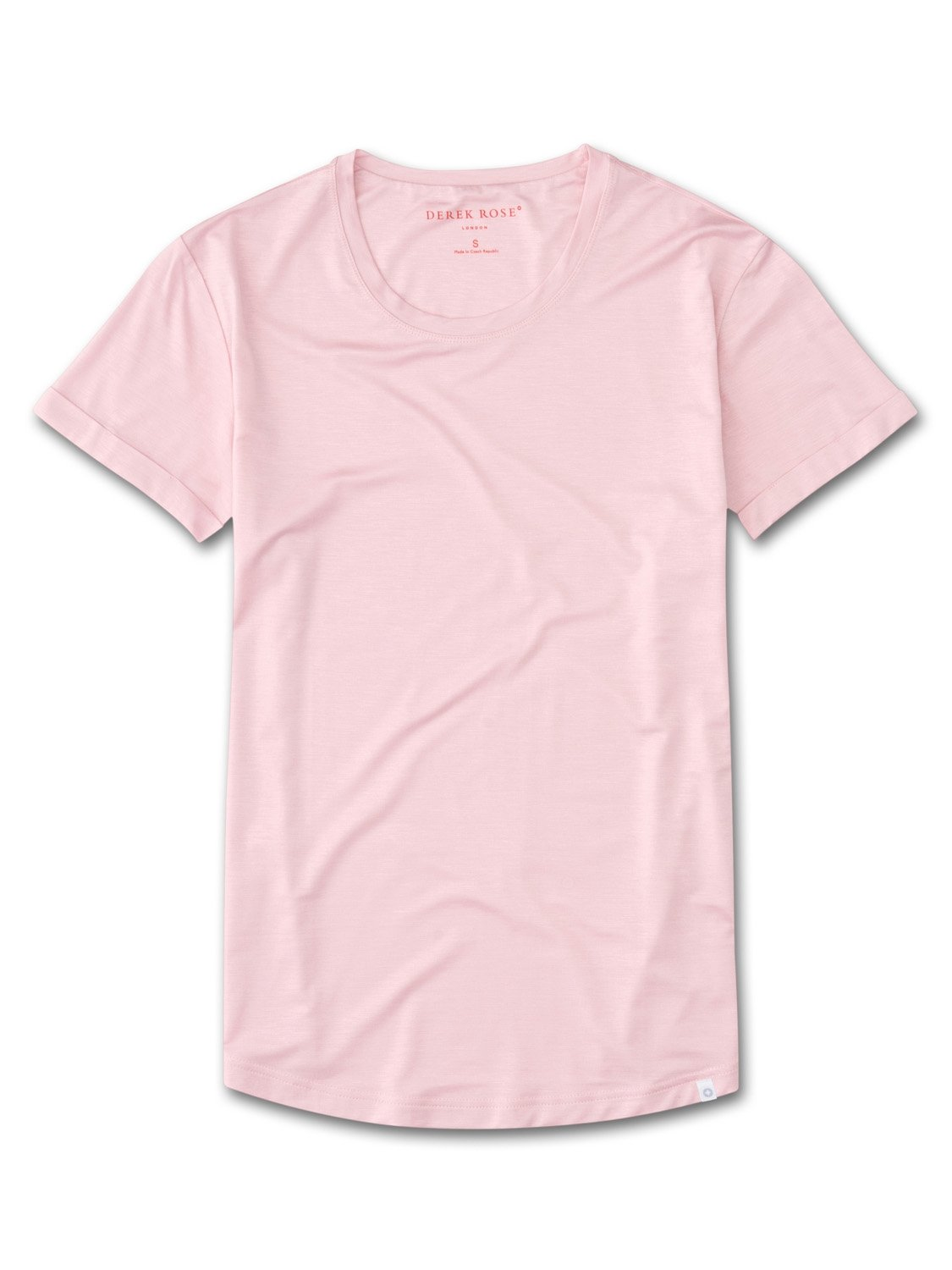 Women's Leisure T-Shirt Carla 3 Micro Modal Stretch Pink