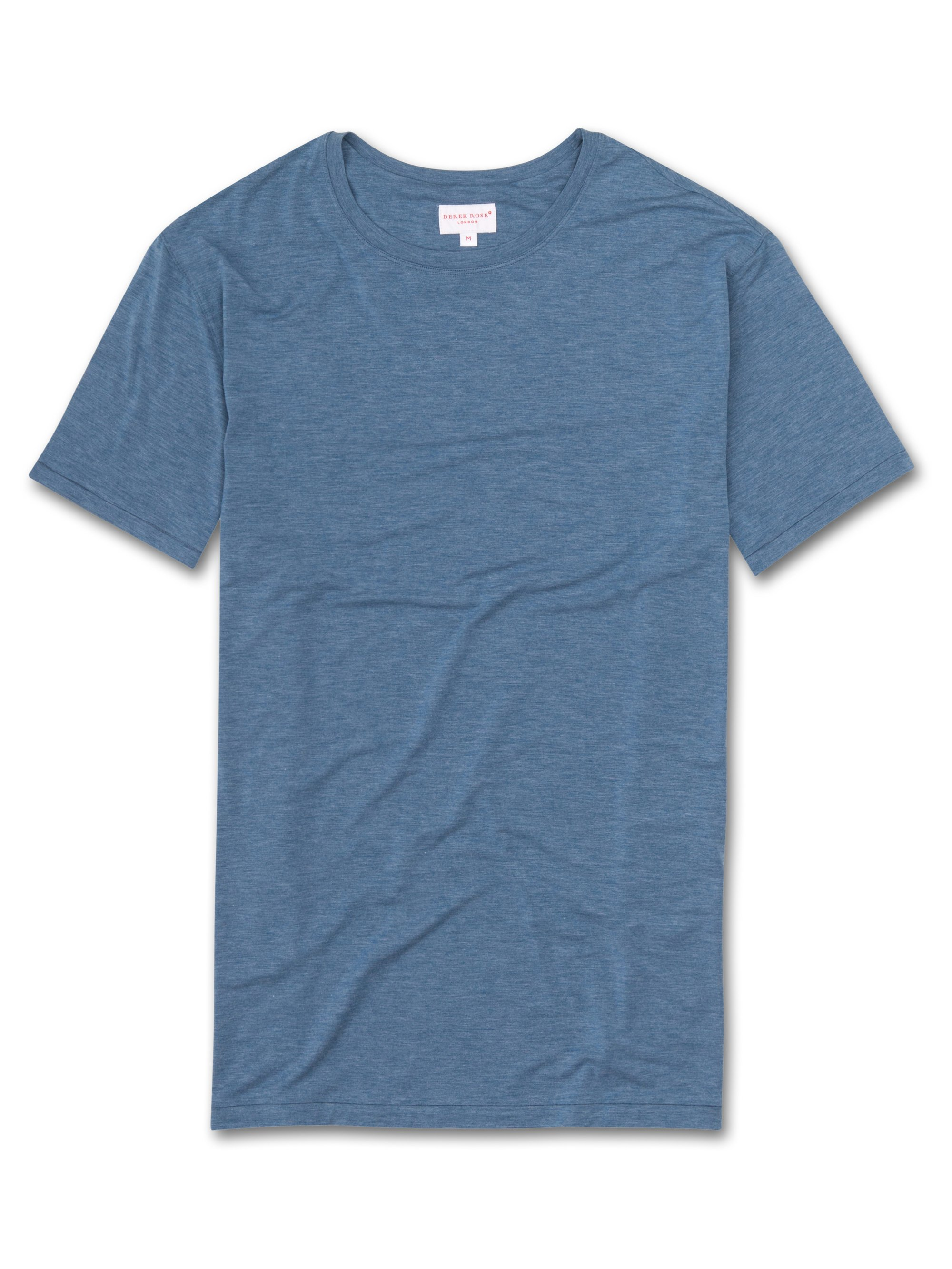 Men's Short Sleeve T-Shirt Ethan Micro Modal Stretch Sapphire