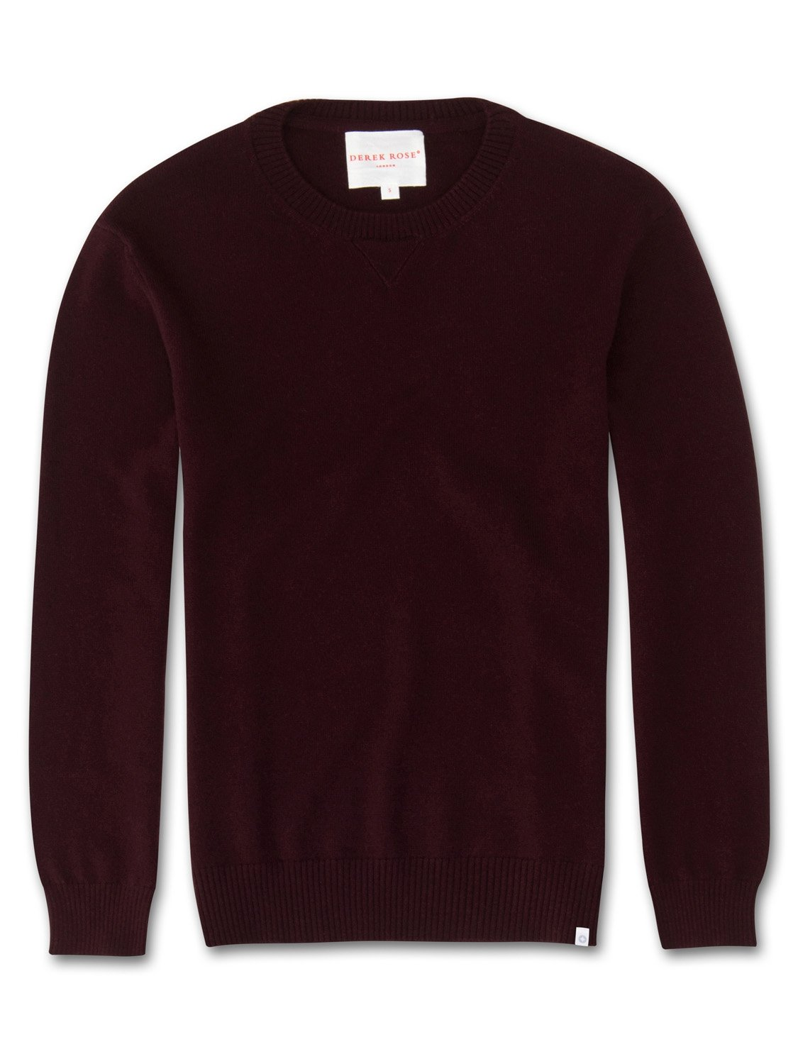 Women's Cashmere Sweater Finley Pure Cashmere Burgundy