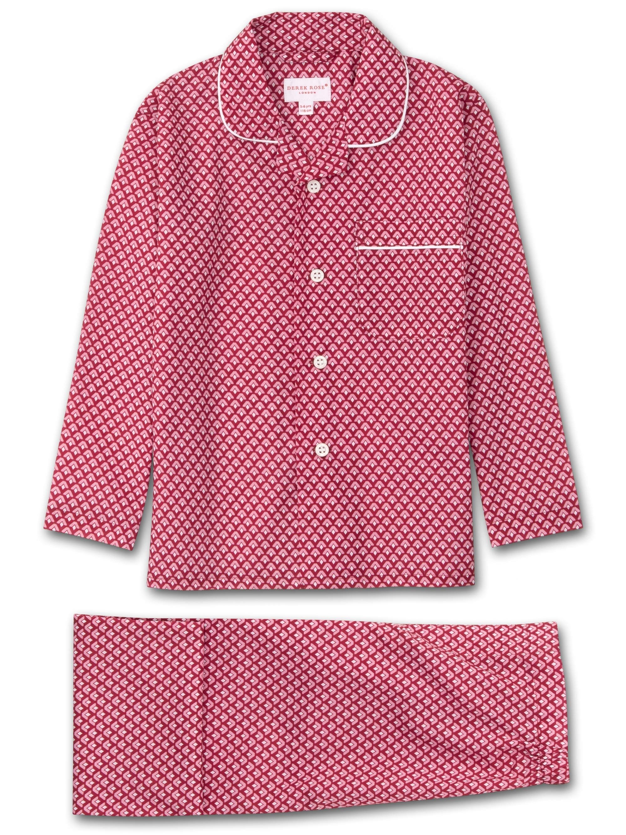 Kids' Pyjamas Ledbury 31 Cotton Batiste Pink