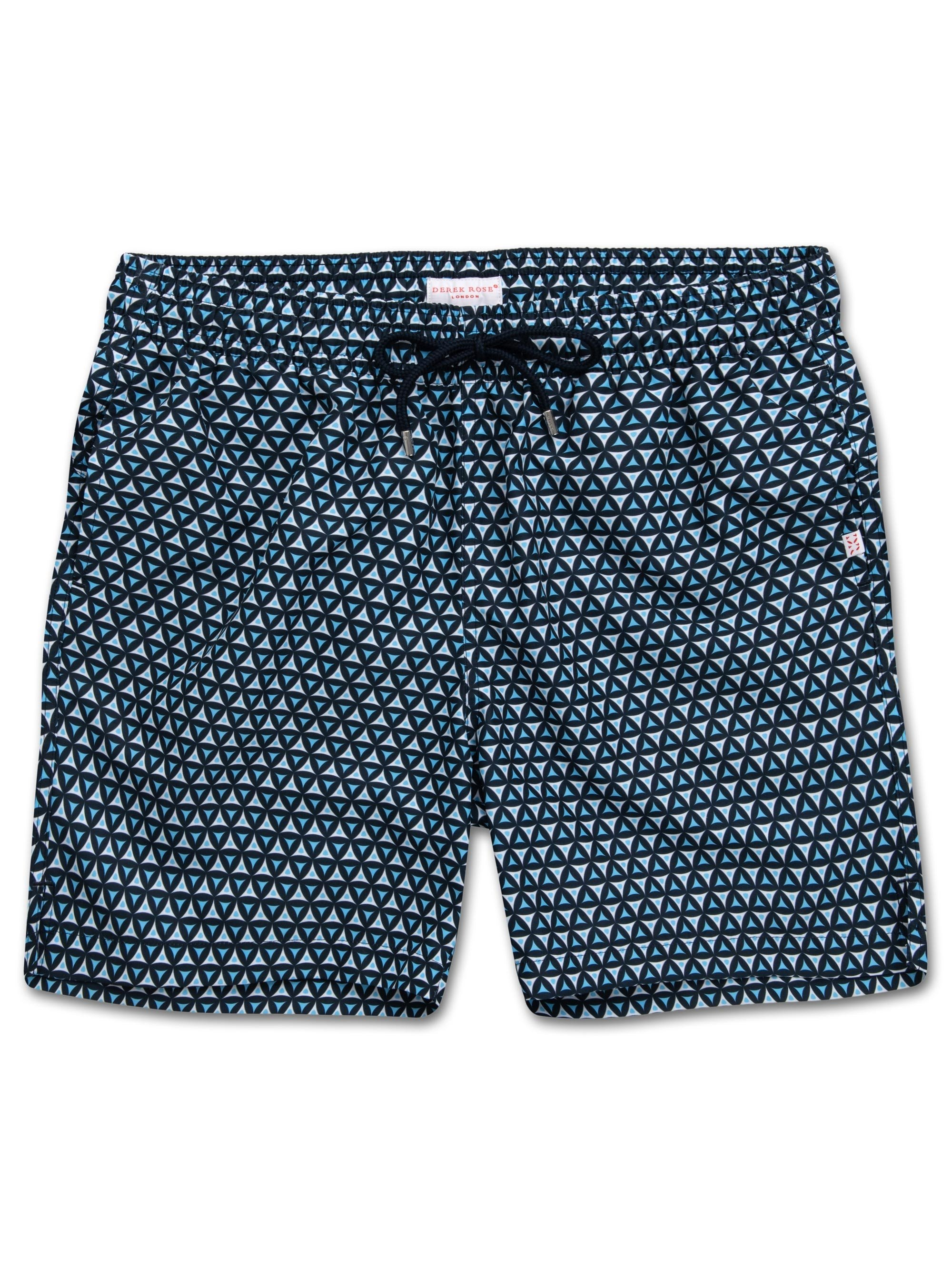 Men's Classic Fit Swim Shorts Tropez 6 Navy