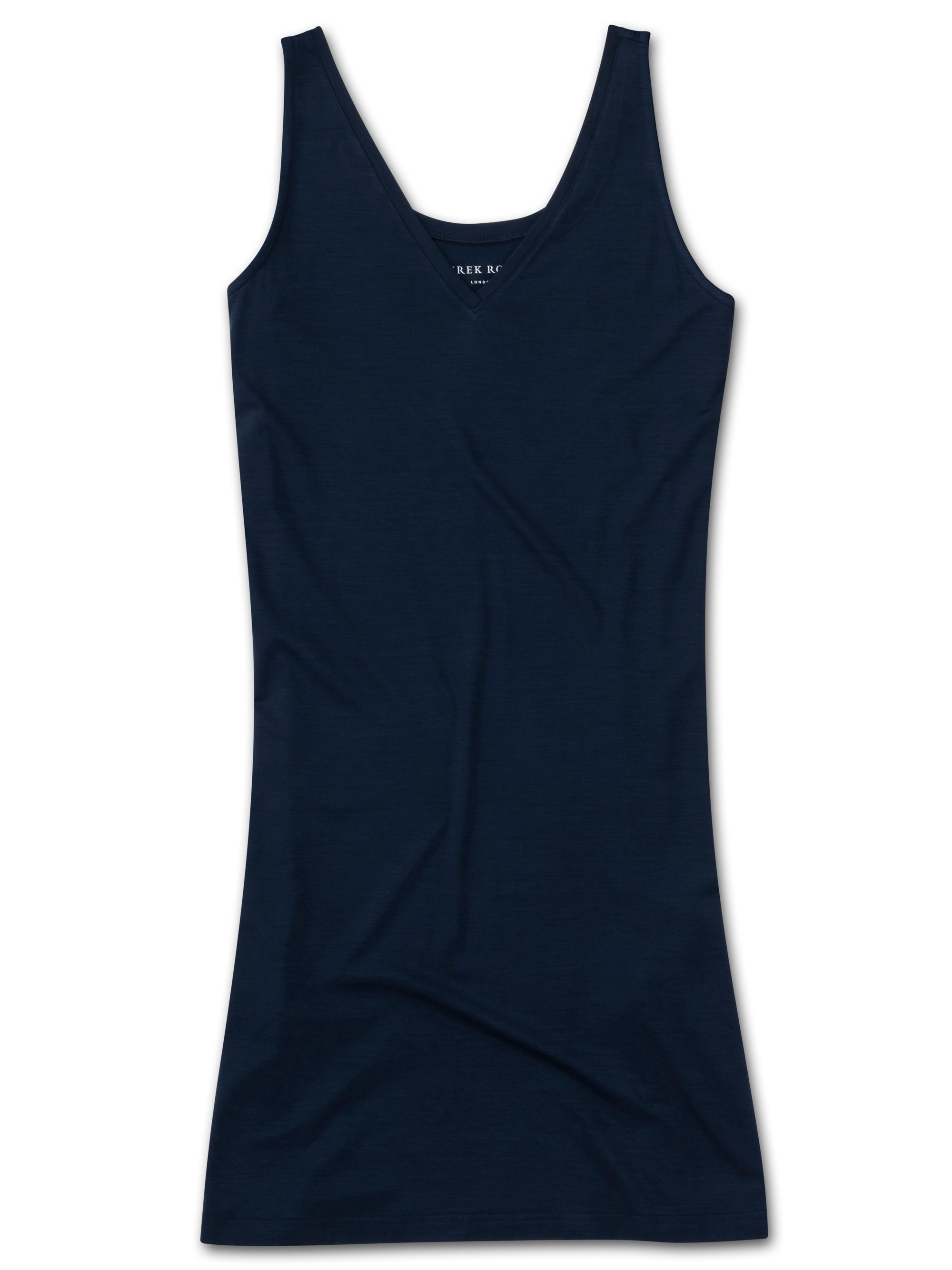 Women's Chemise Lara Micro Modal Stretch Navy