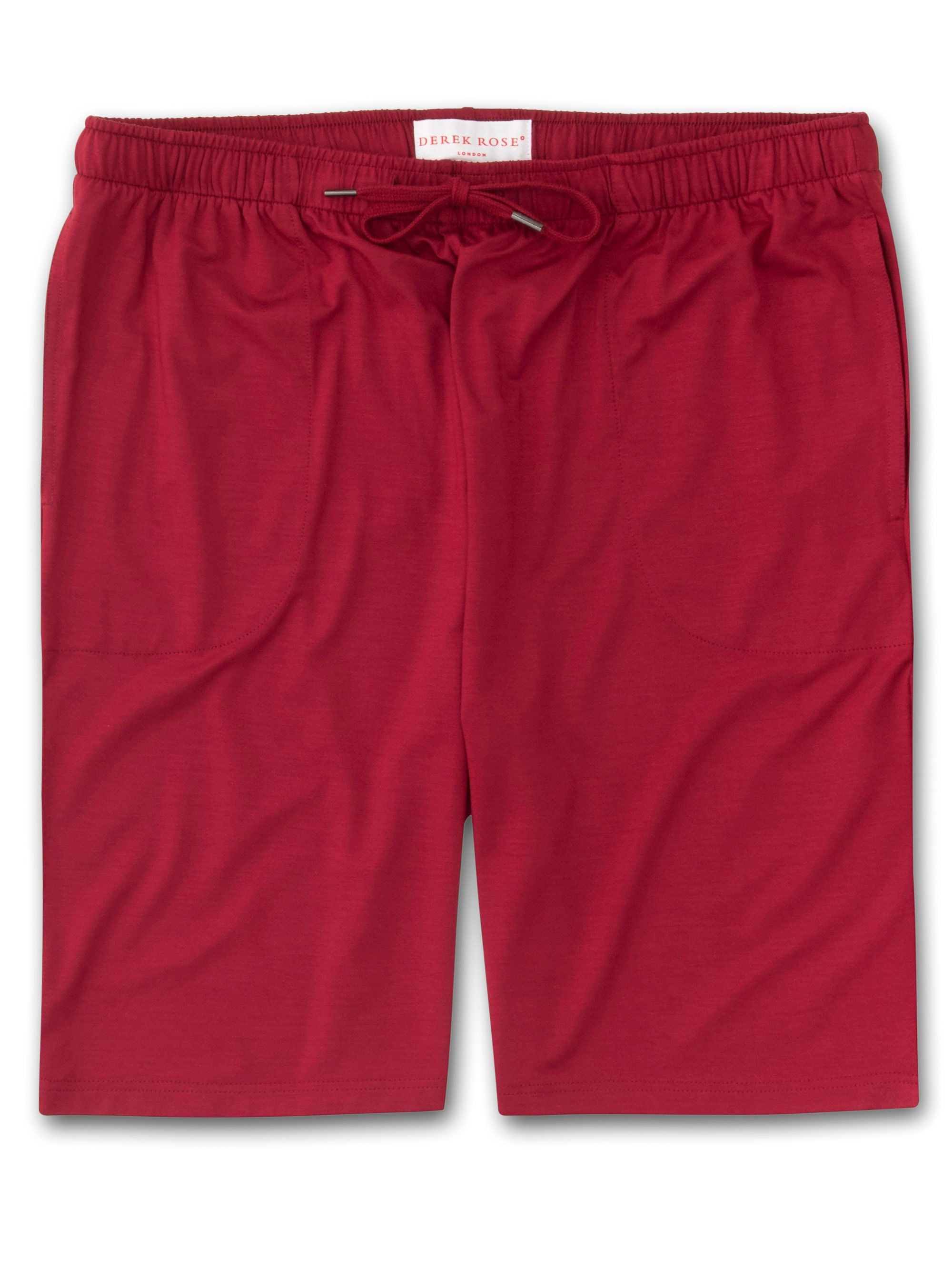 Men's Jersey Shorts Basel 8 Micro Modal Stretch Red