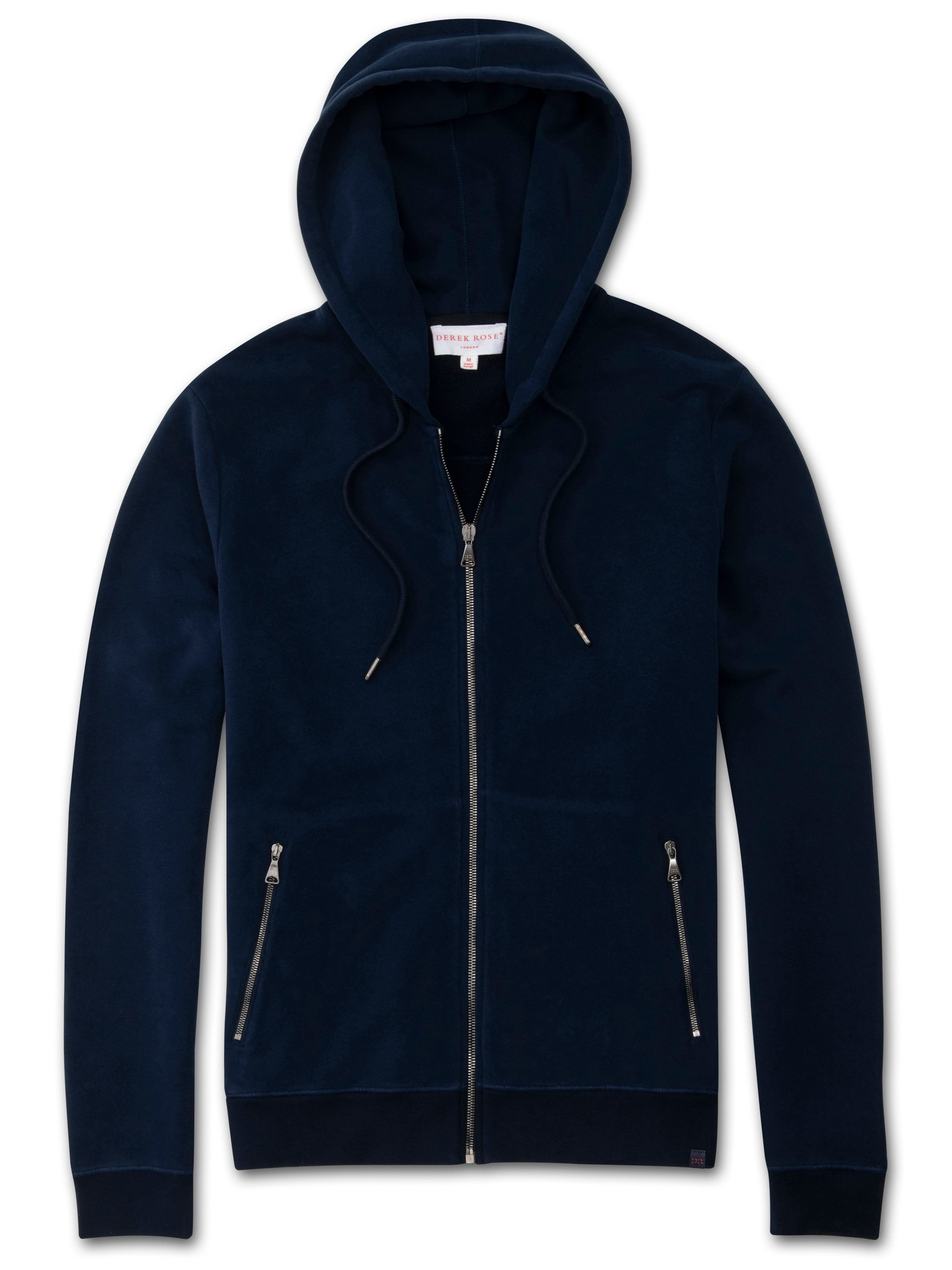 Men's Hoodie Devon 2 Loopback Cotton Navy