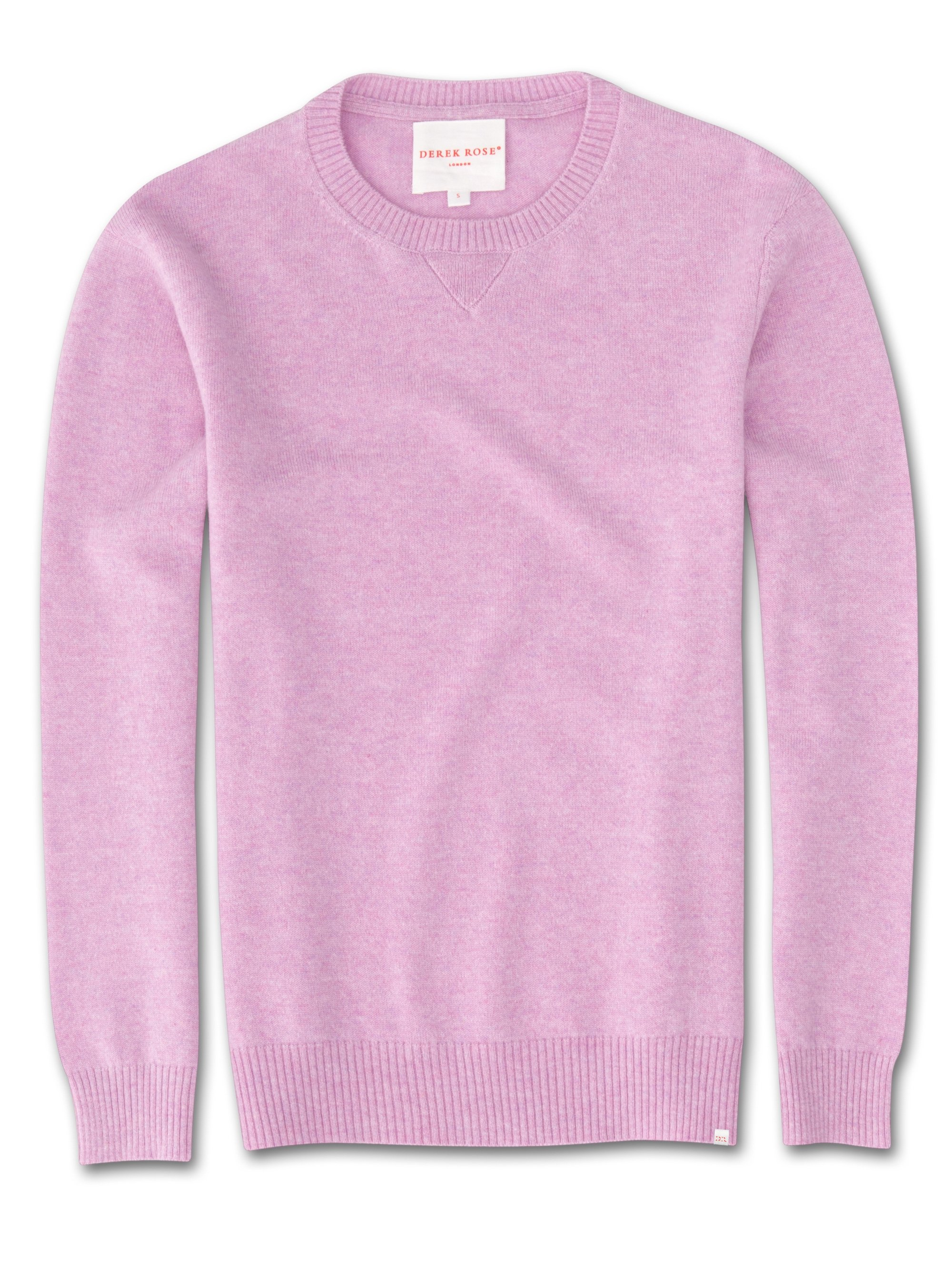 Women's Cashmere Sweater Finley Pure Cashmere Lilac