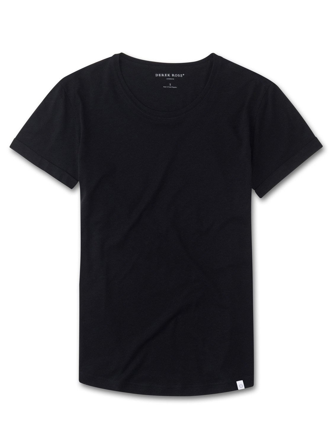 Women's Leisure T-Shirt Riley Pima Cotton Black