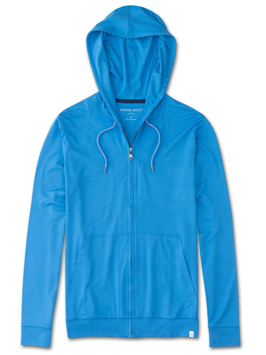 Men's Jersey Hoodie Basel 4 Micro Modal Stretch Blue