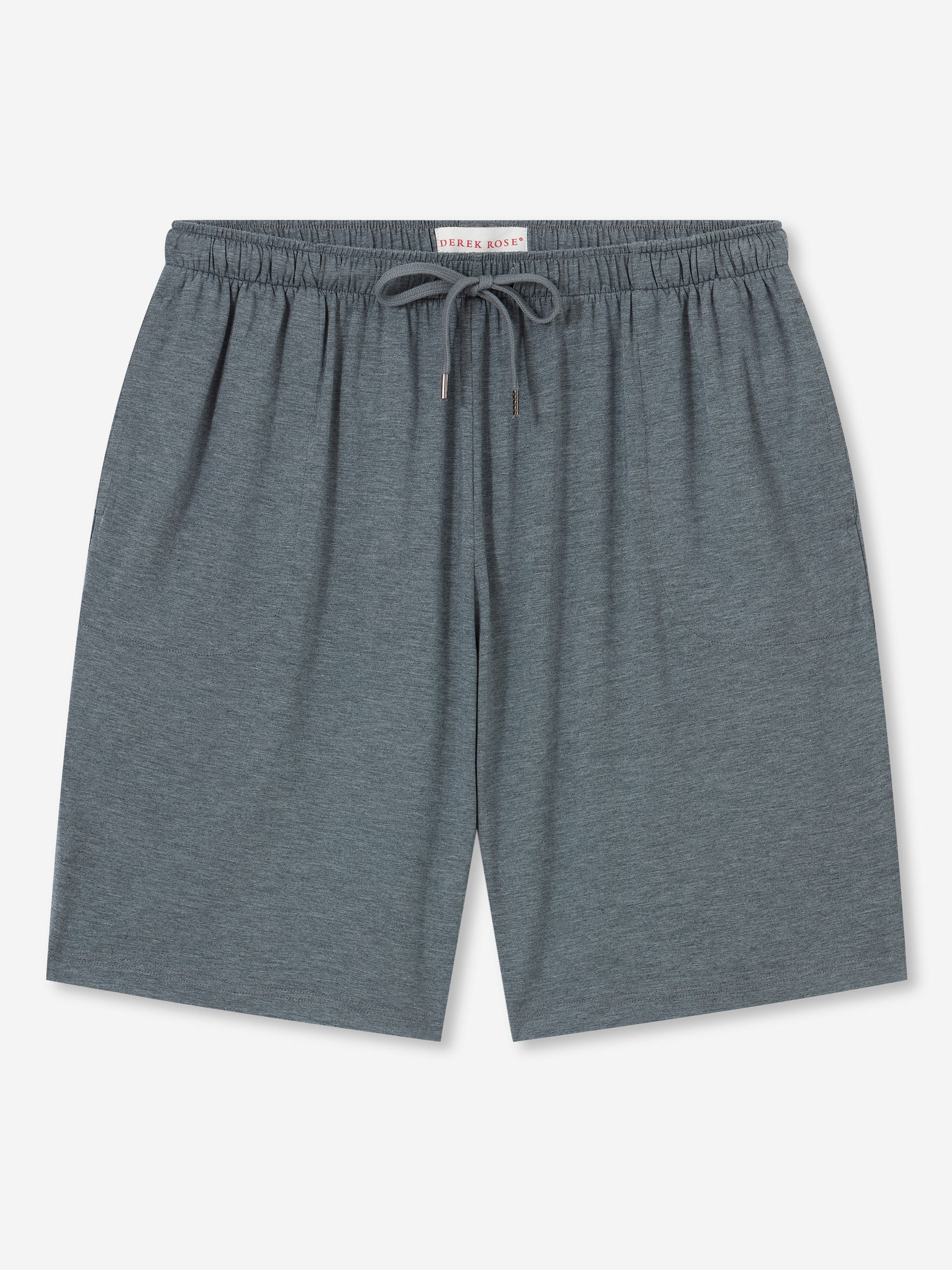 Men's Jersey Shorts Marlowe Micro Modal Stretch Charcoal