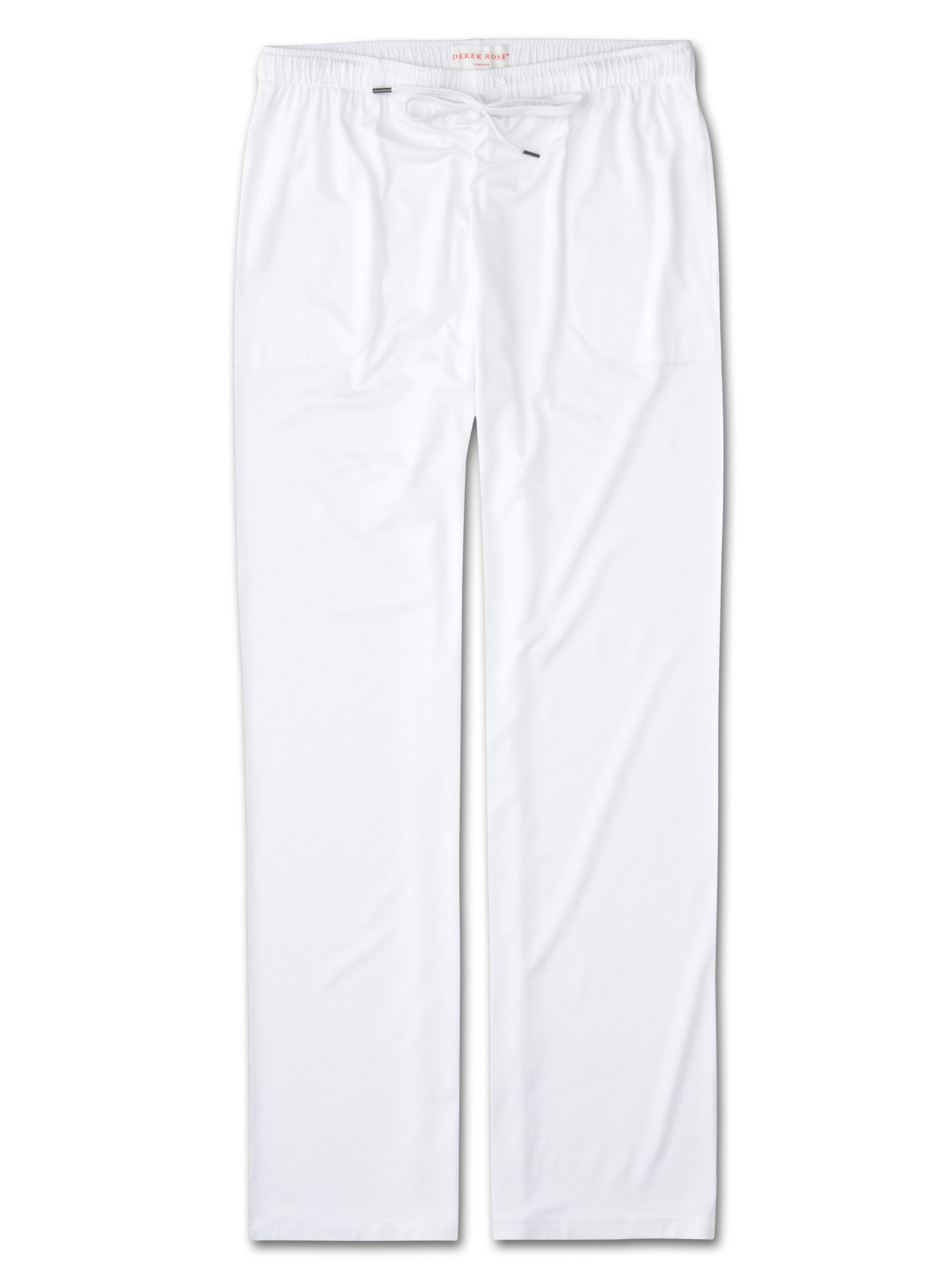 Men's Jersey Trousers Basel Micro Modal Stretch White