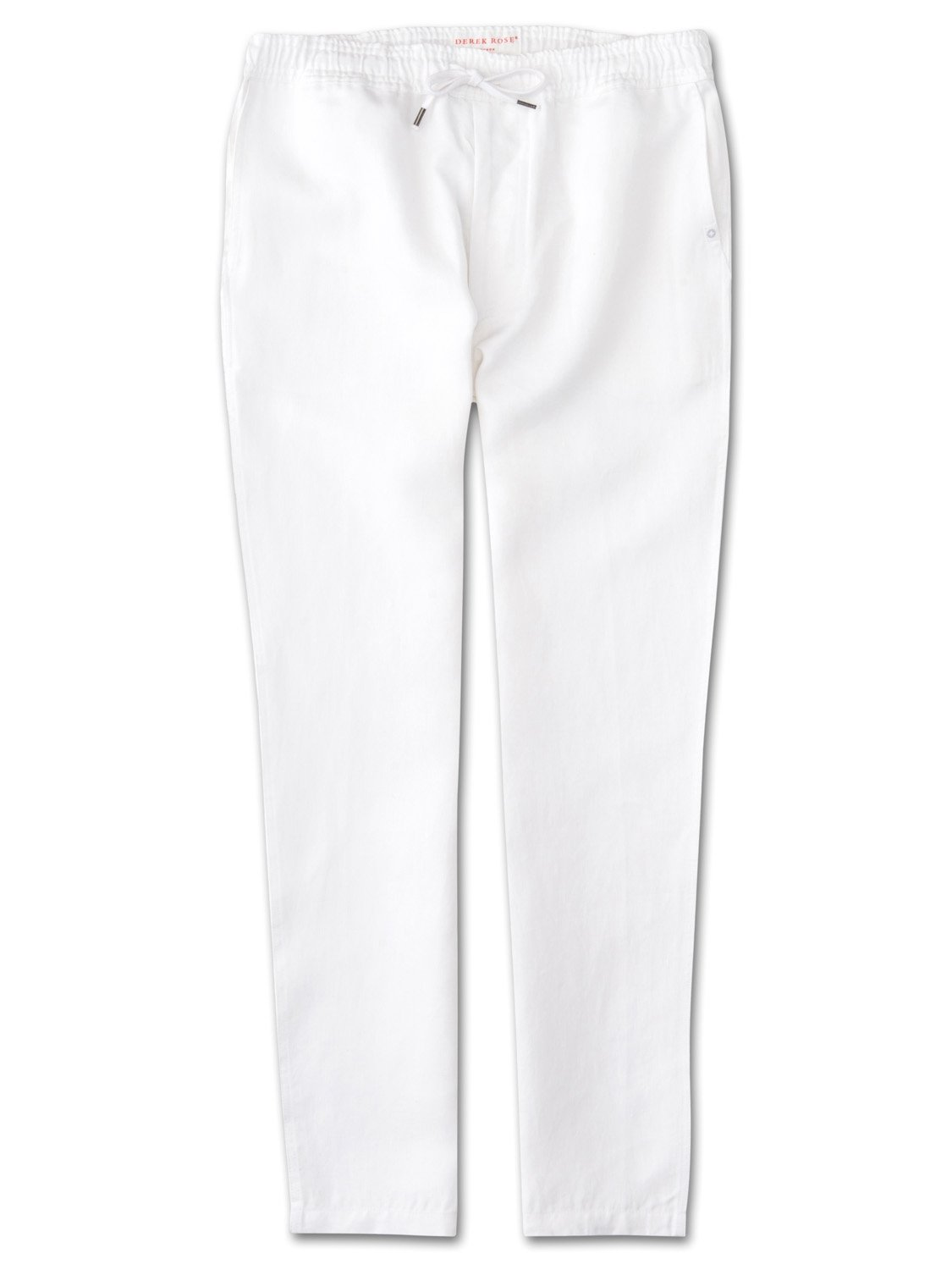 Men's Linen Trousers Sydney Linen White