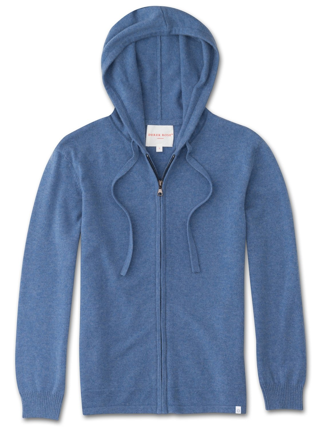 Women's Cashmere Hoodie Finley 2 Pure Cashmere Blue