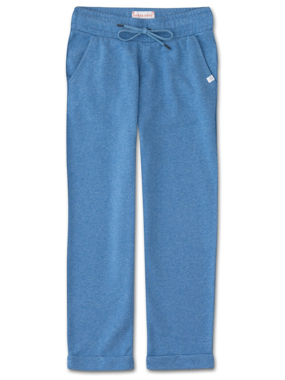 Women's Cropped Leisure Pant Devon 2 Loopback Cotton Blue