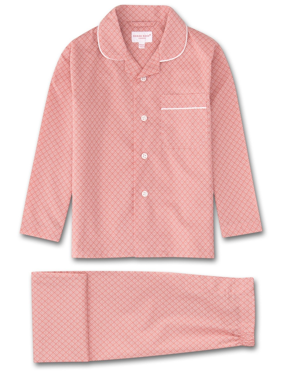 Kids' Pyjamas Nelson 66 Cotton Batiste Pink