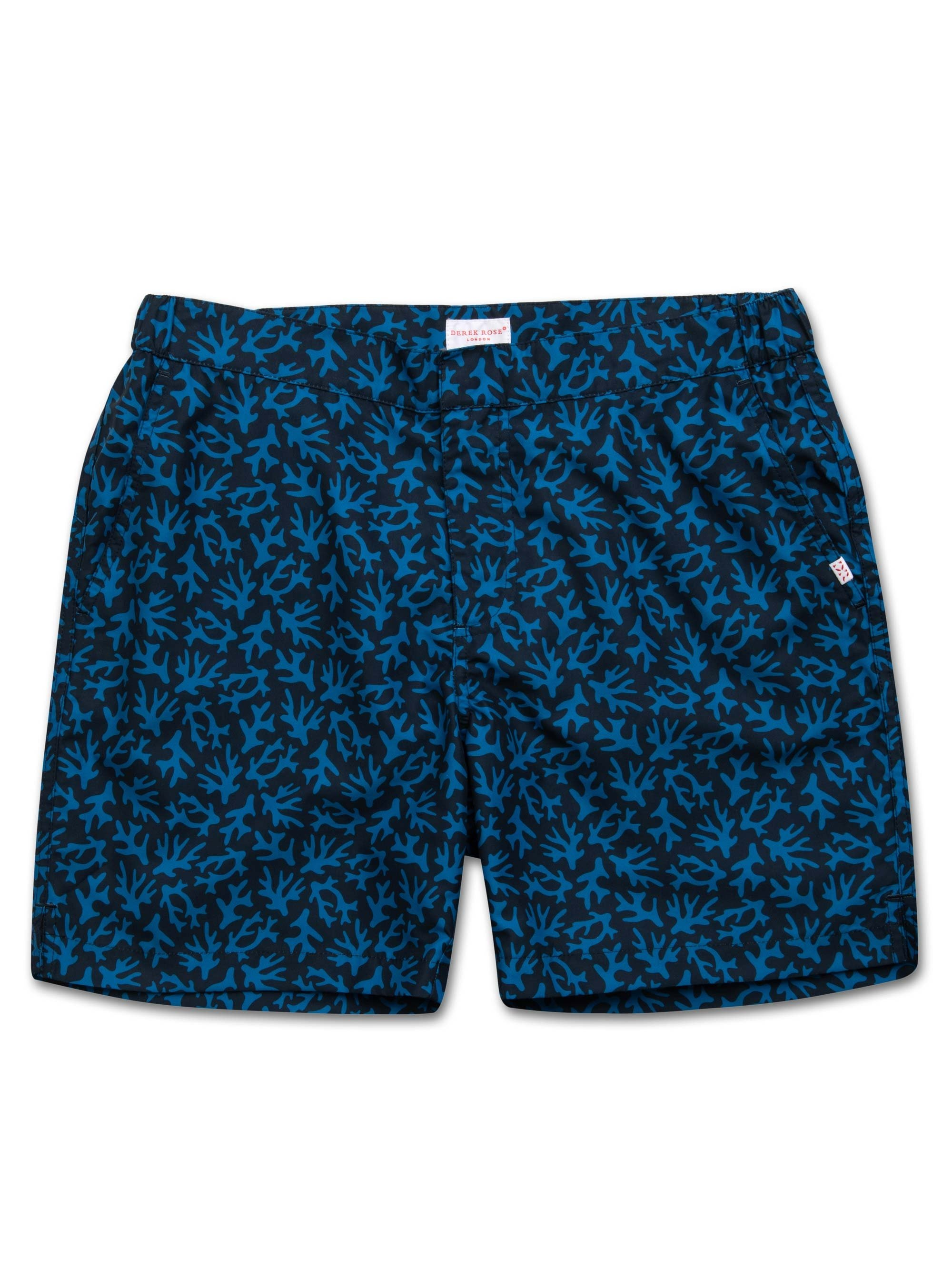 Men's Modern Fit Swim Shorts Maui 17 Ocean