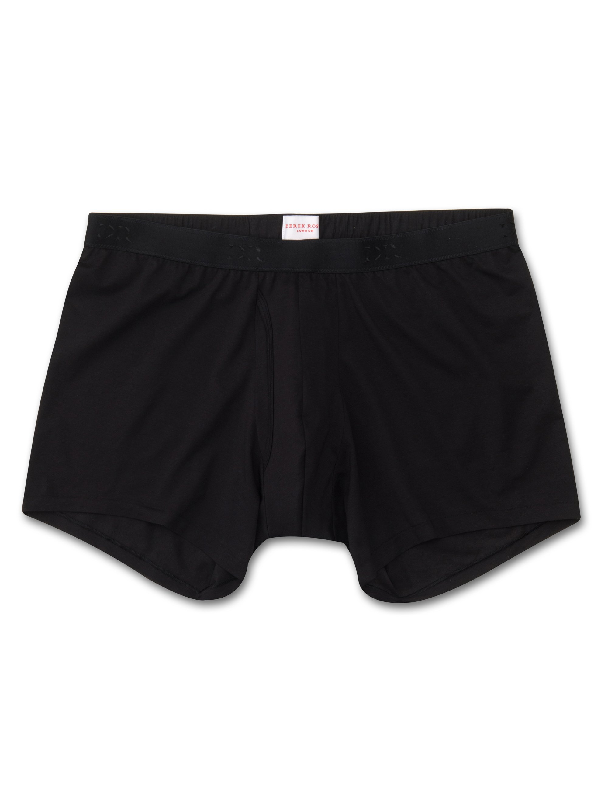 Men's Trunks Jack Pima Cotton Stretch Black