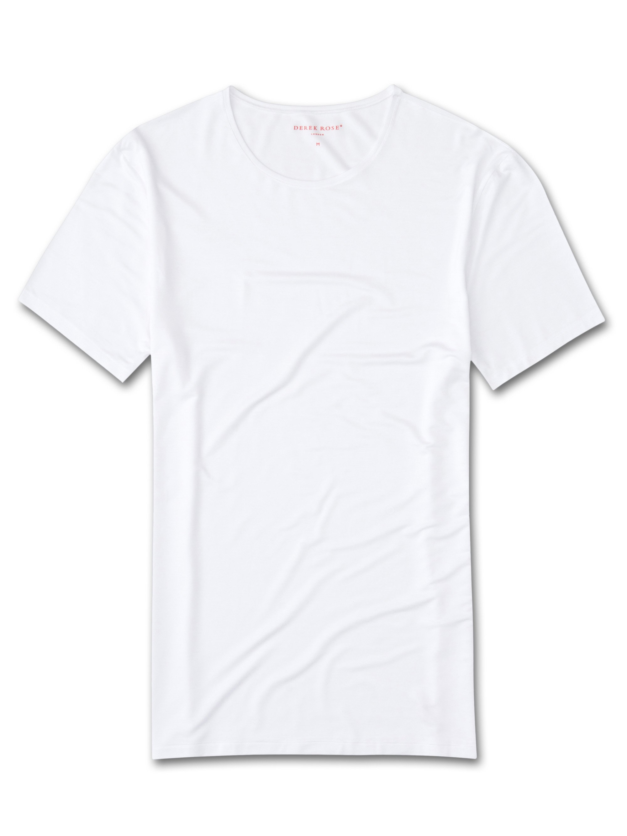 Men's Underwear Crew-Neck T-Shirt Alex Micro Modal Stretch White