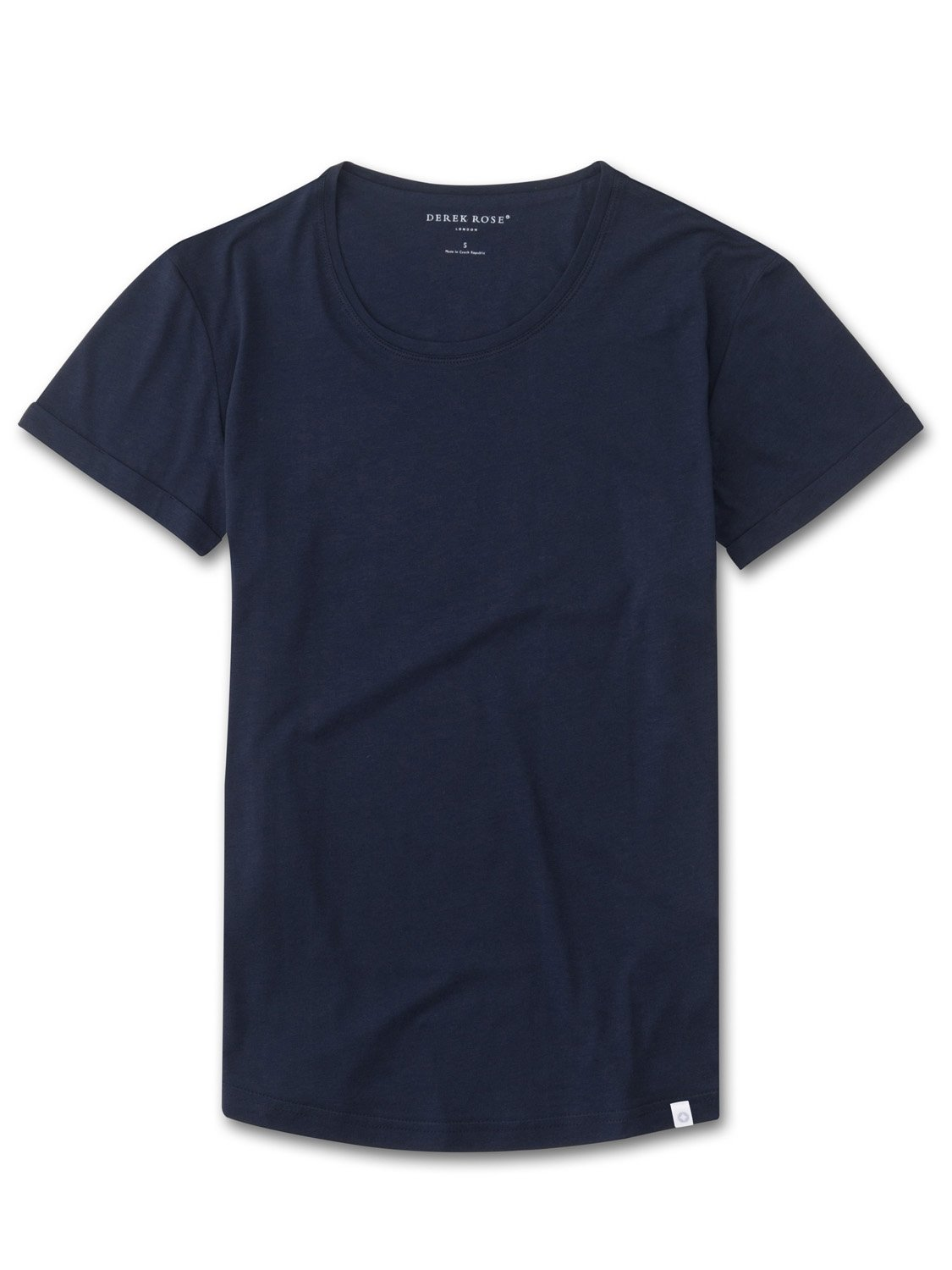 Women's Leisure T-Shirt Riley Pima Cotton Navy