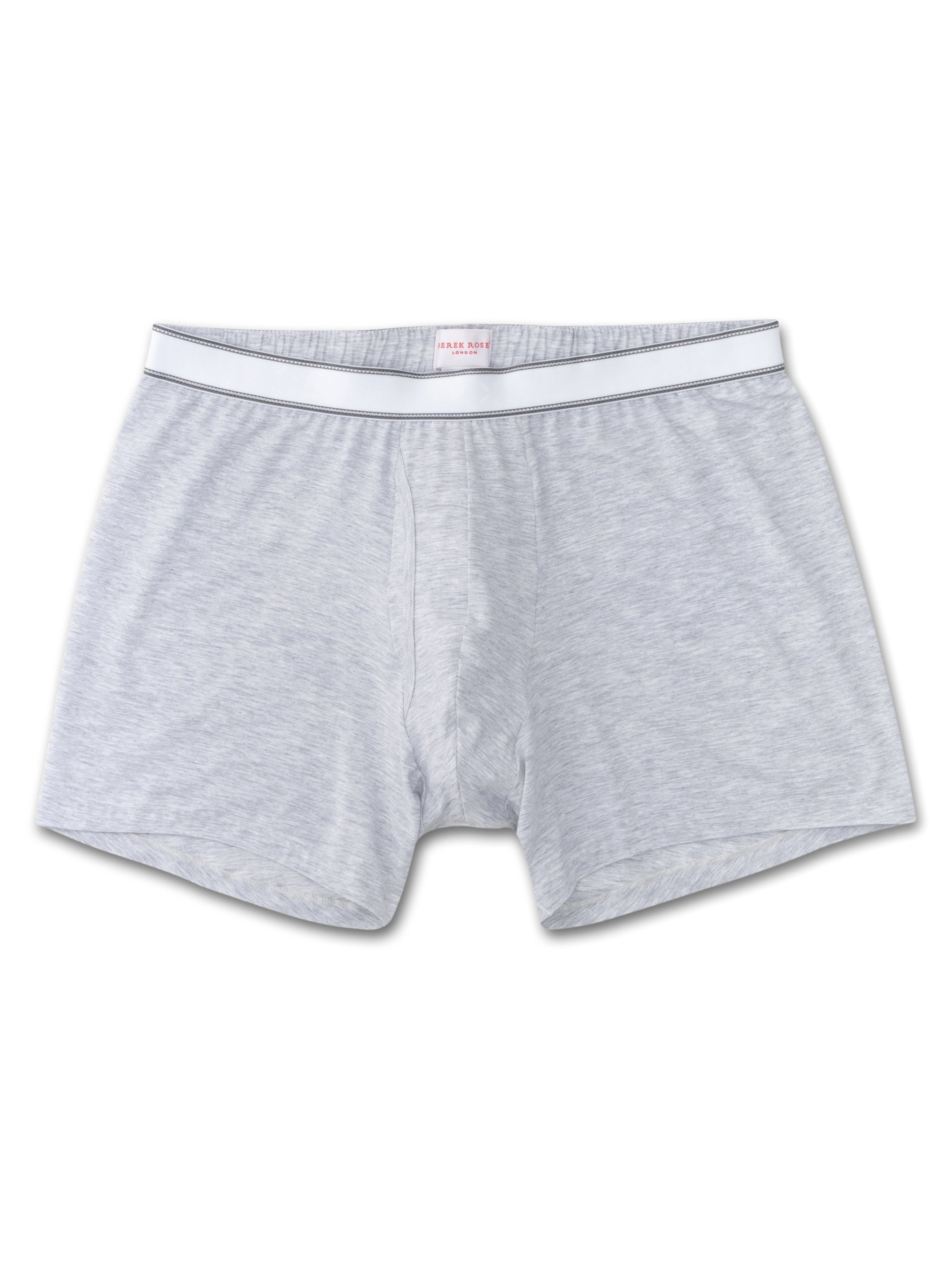 Men's Trunks Ethan Micro Modal Stretch Silver