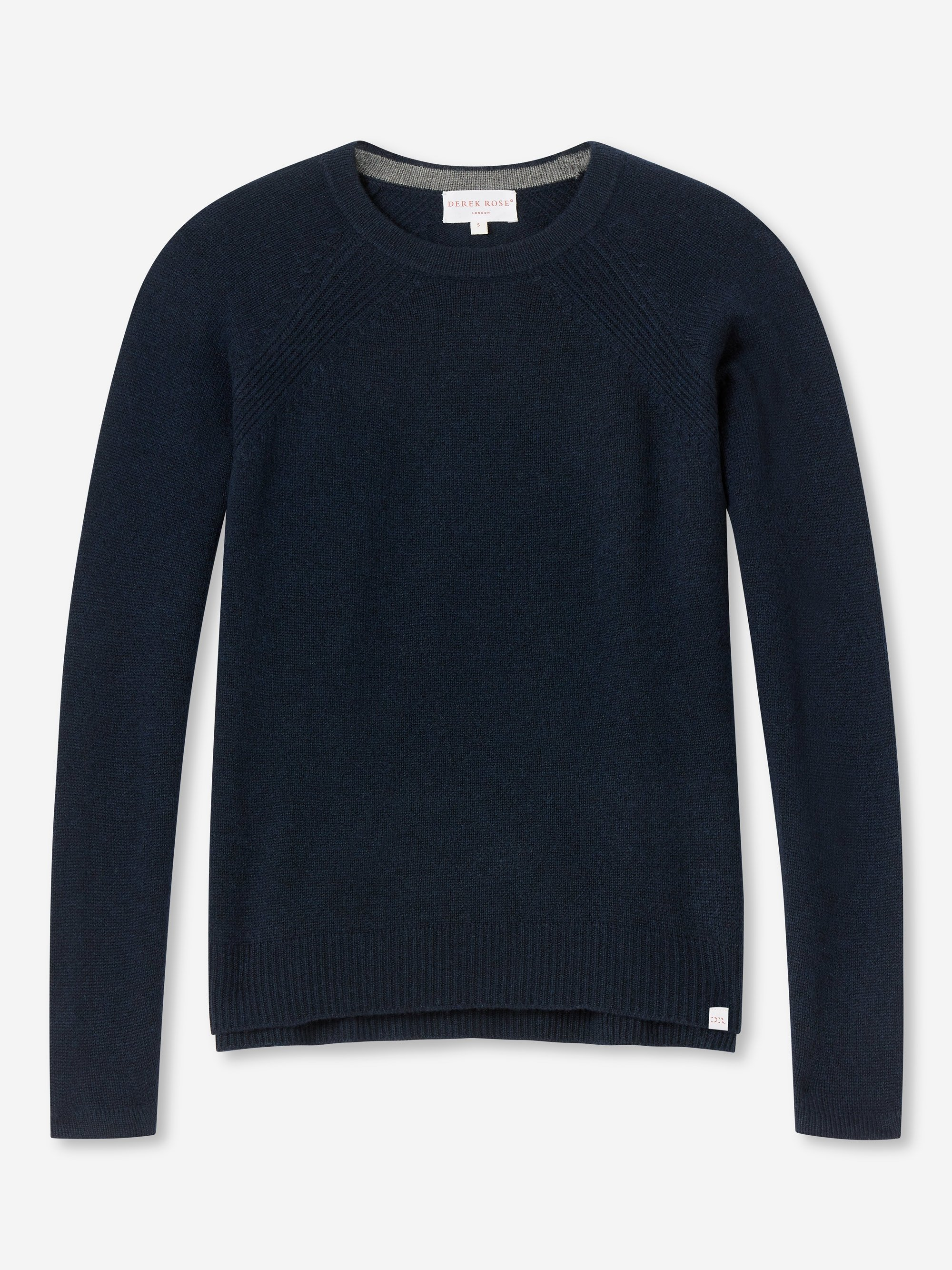 Women's Cashmere Sweater Daphne Pure Cashmere Navy