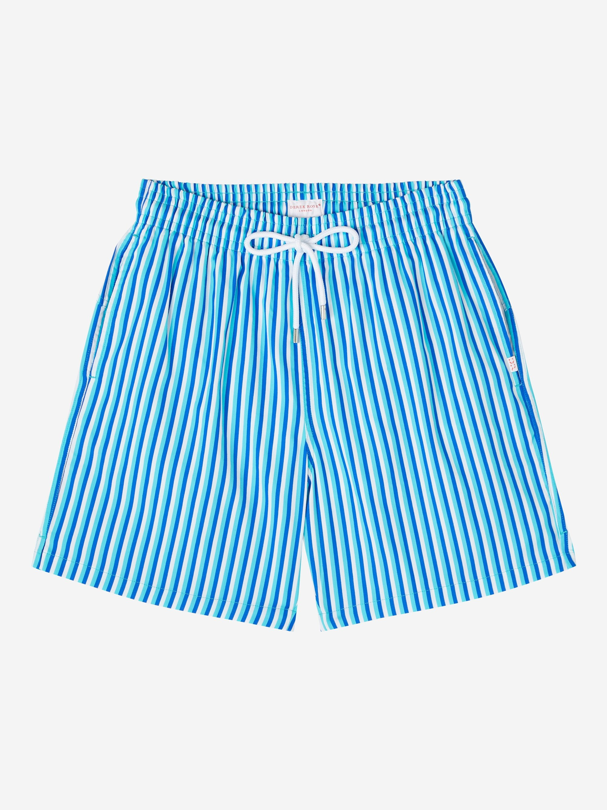 Men's Classic Fit Swim Shorts Bondi 3 Blue