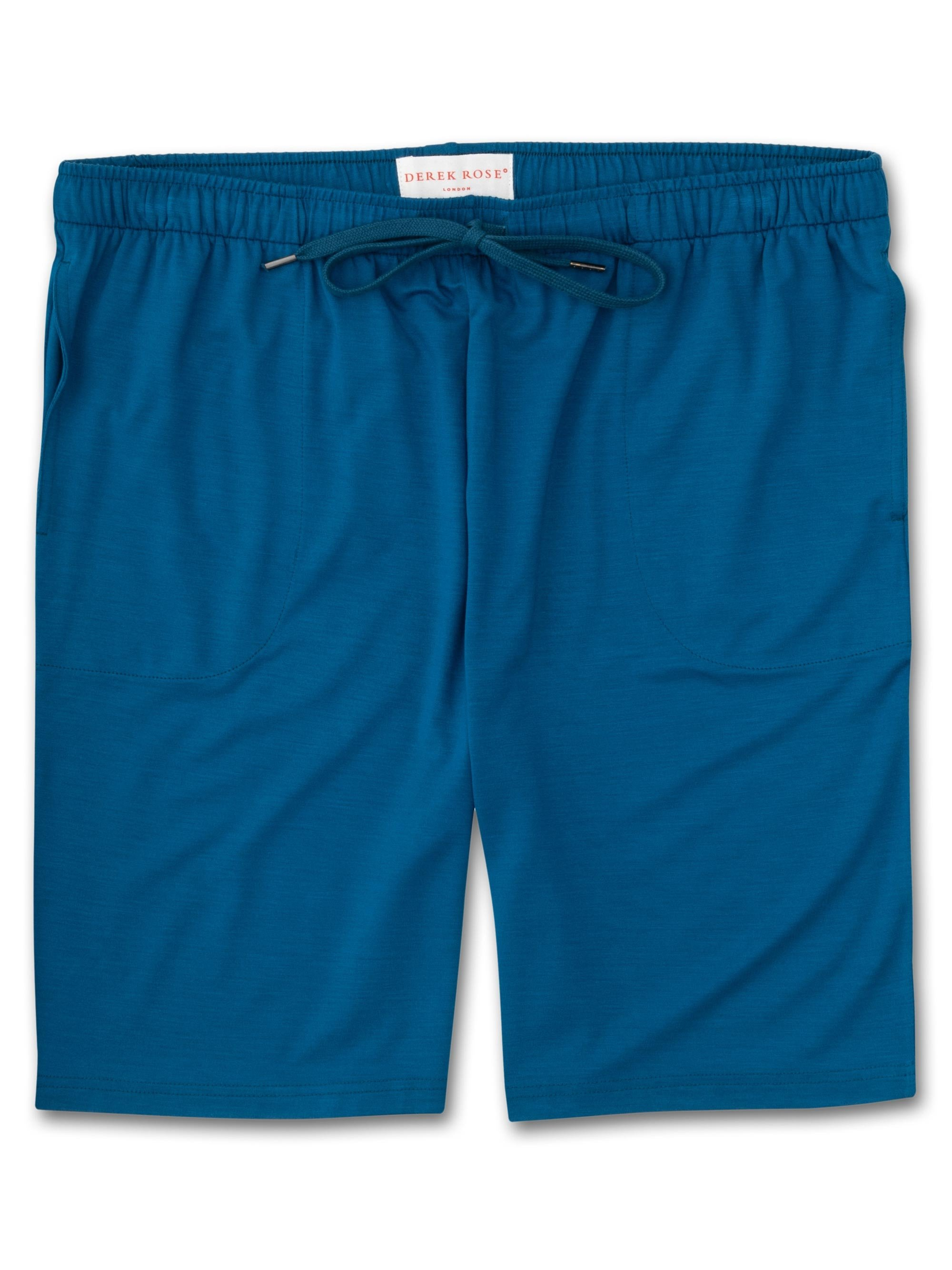Men's Jersey Shorts Basel 7 Micro Modal Stretch Ocean
