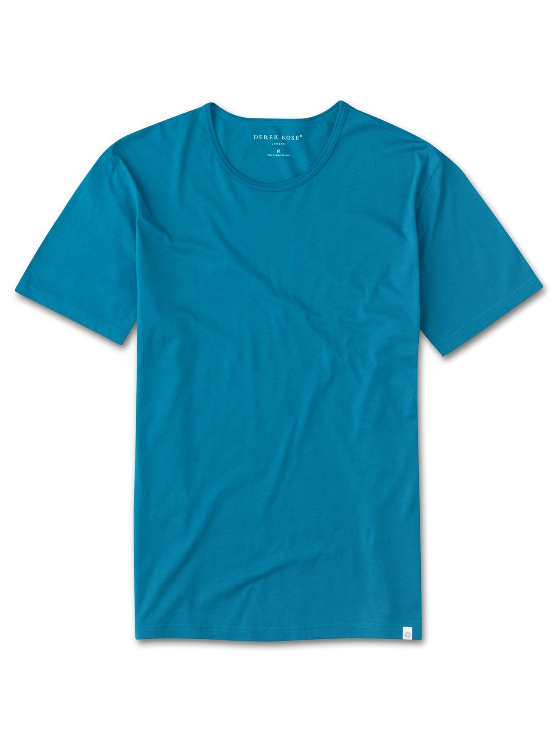 Men's Short Sleeve T-Shirt Riley 2 Pima Cotton Teal