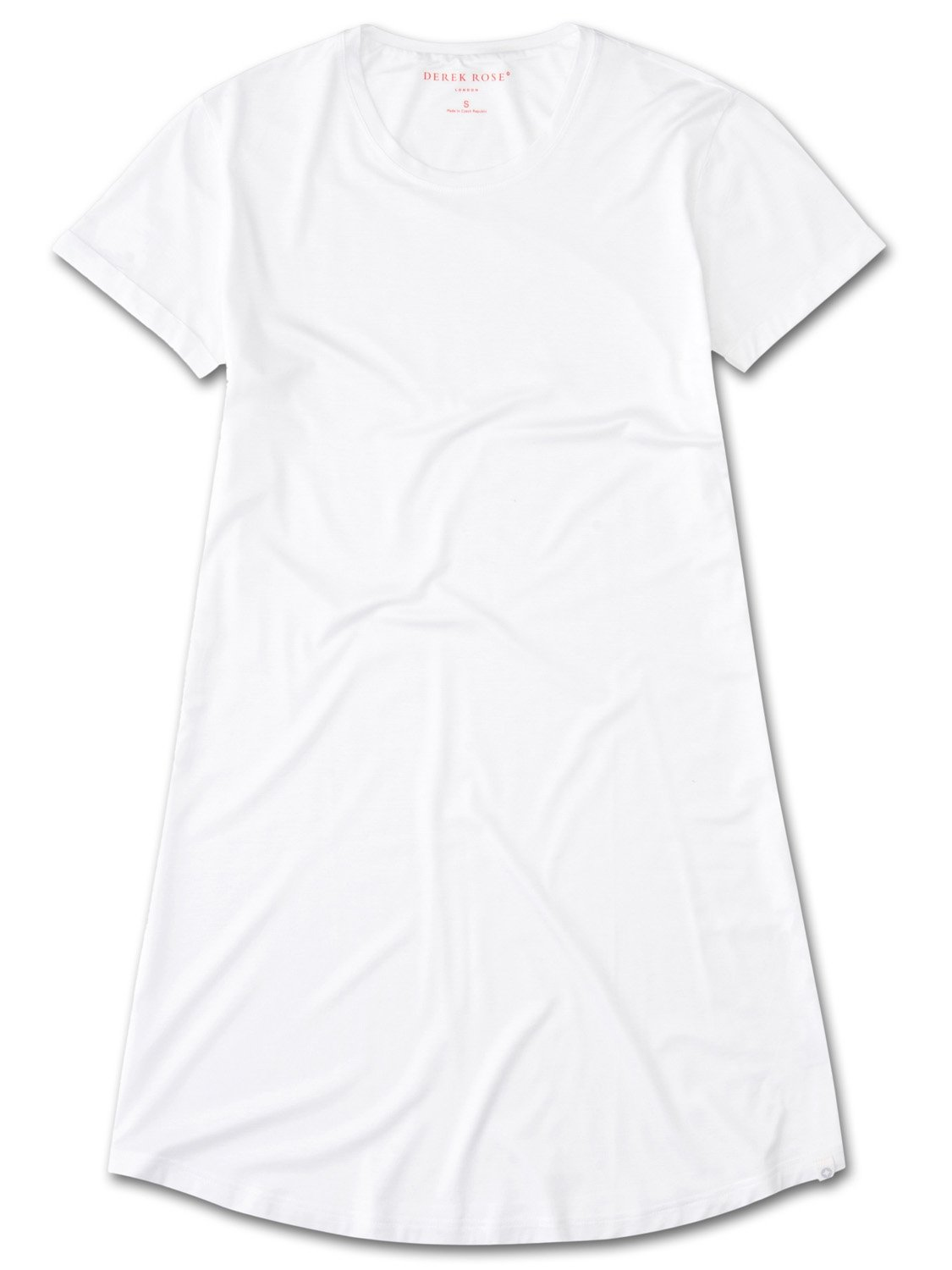 Women's Sleep T-Shirt Carla Micro Modal Stretch White