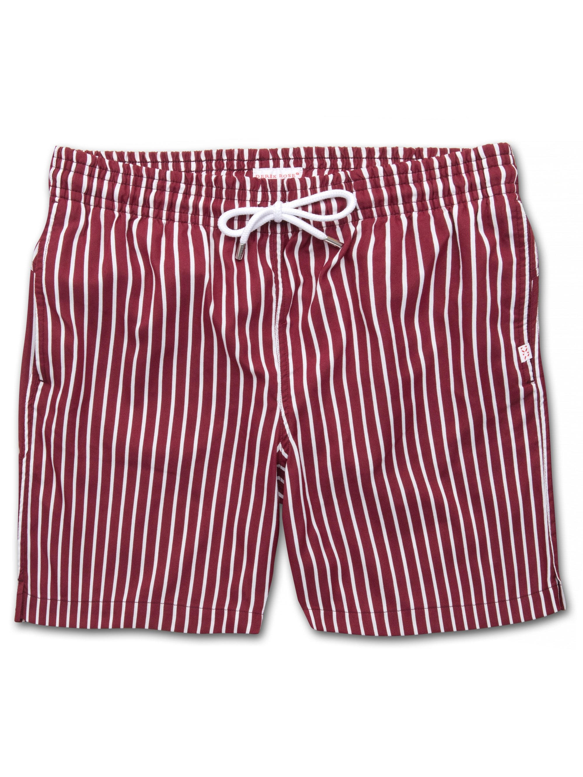 Men's Classic Fit Swim Shorts Bondi Burgundy