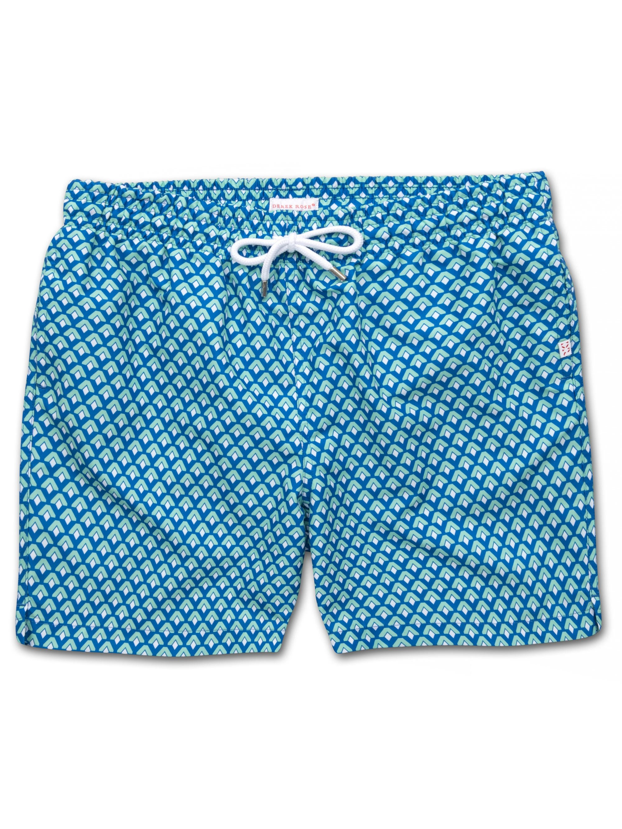 Men's Classic Fit Swim Shorts Tropez 7 Multi