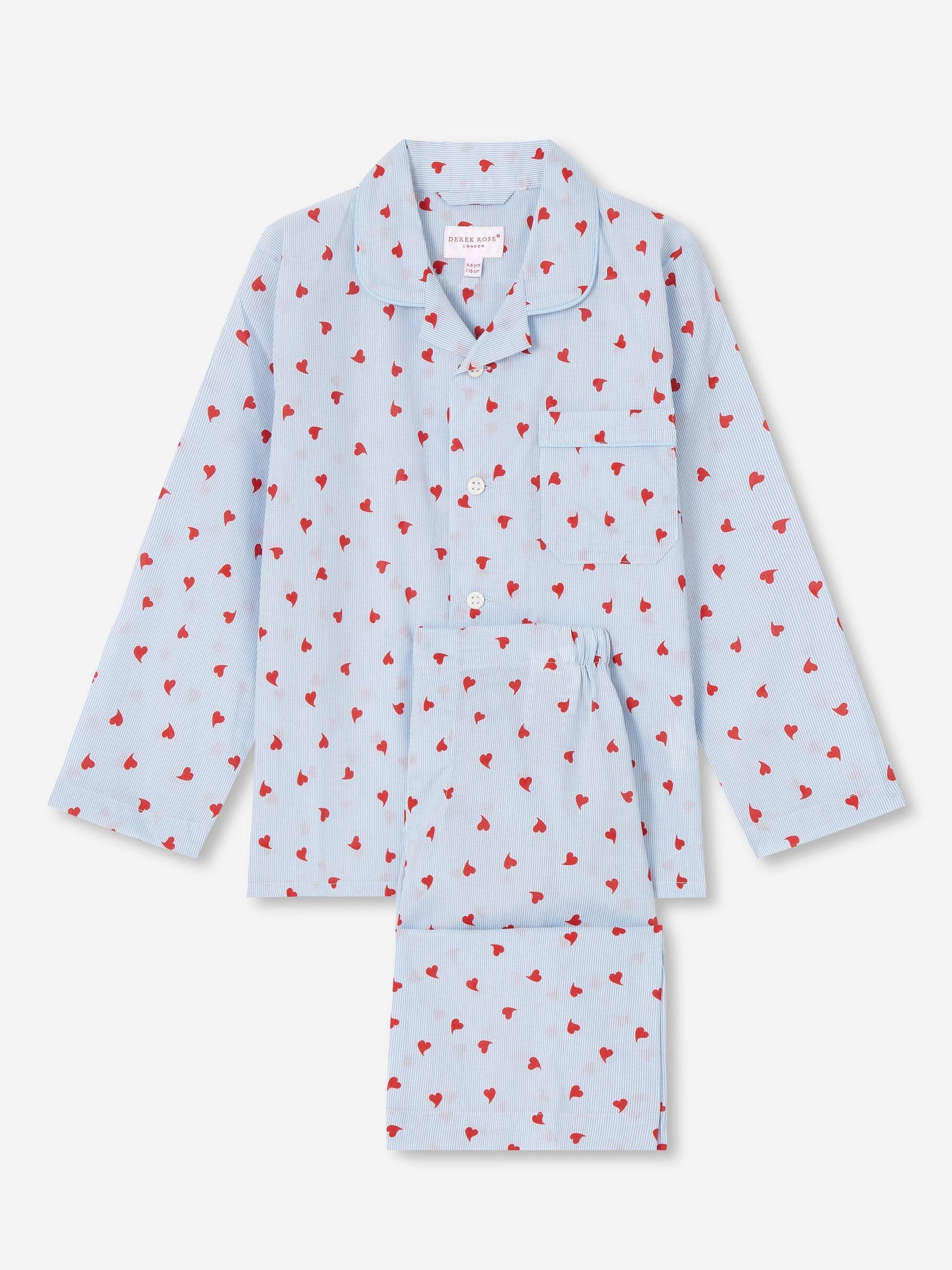 Kids' Pyjamas Nelson 75 Cotton Batiste Blue