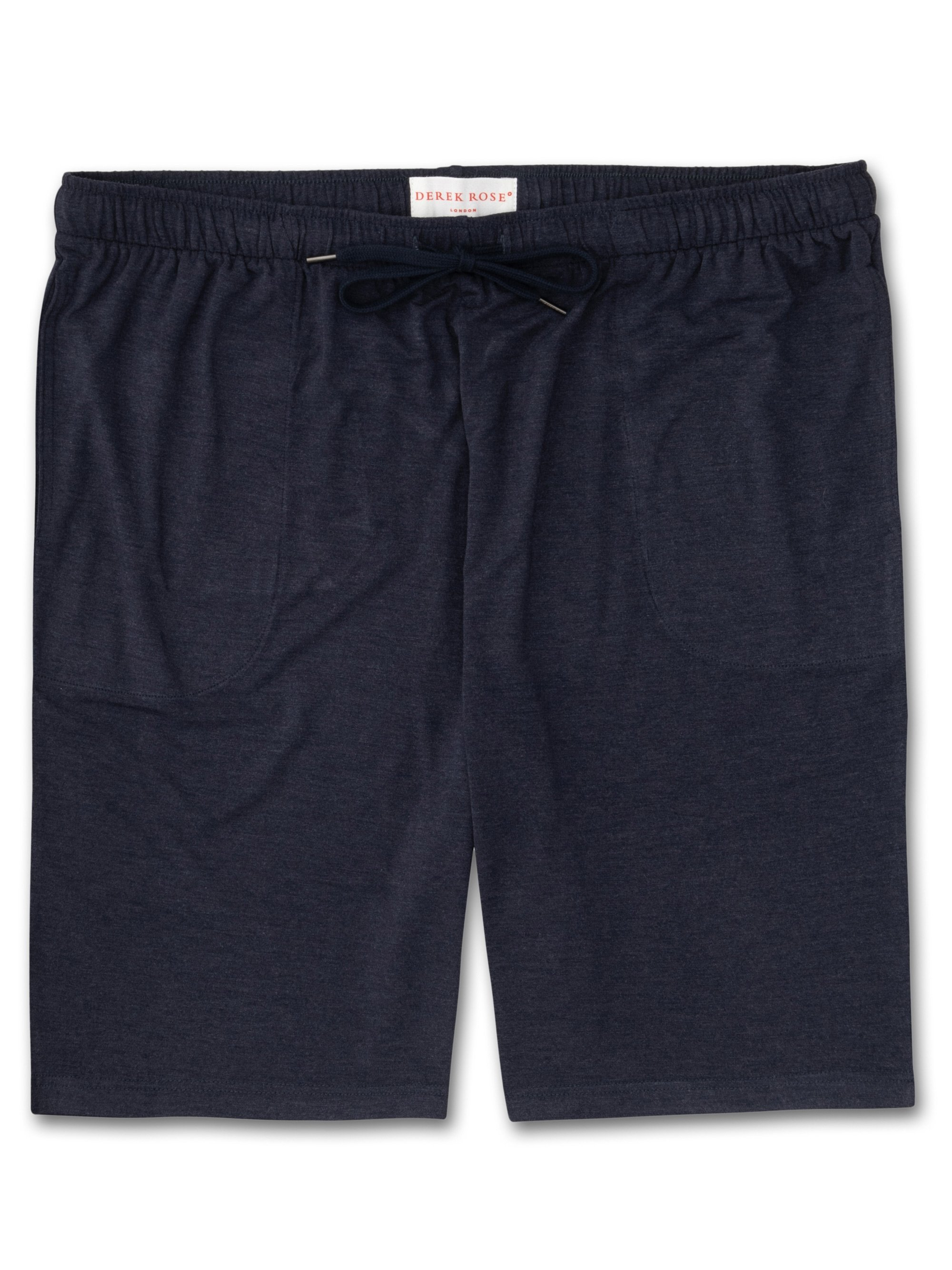 Men's Jersey Shorts Marlowe Micro Modal Stretch Navy